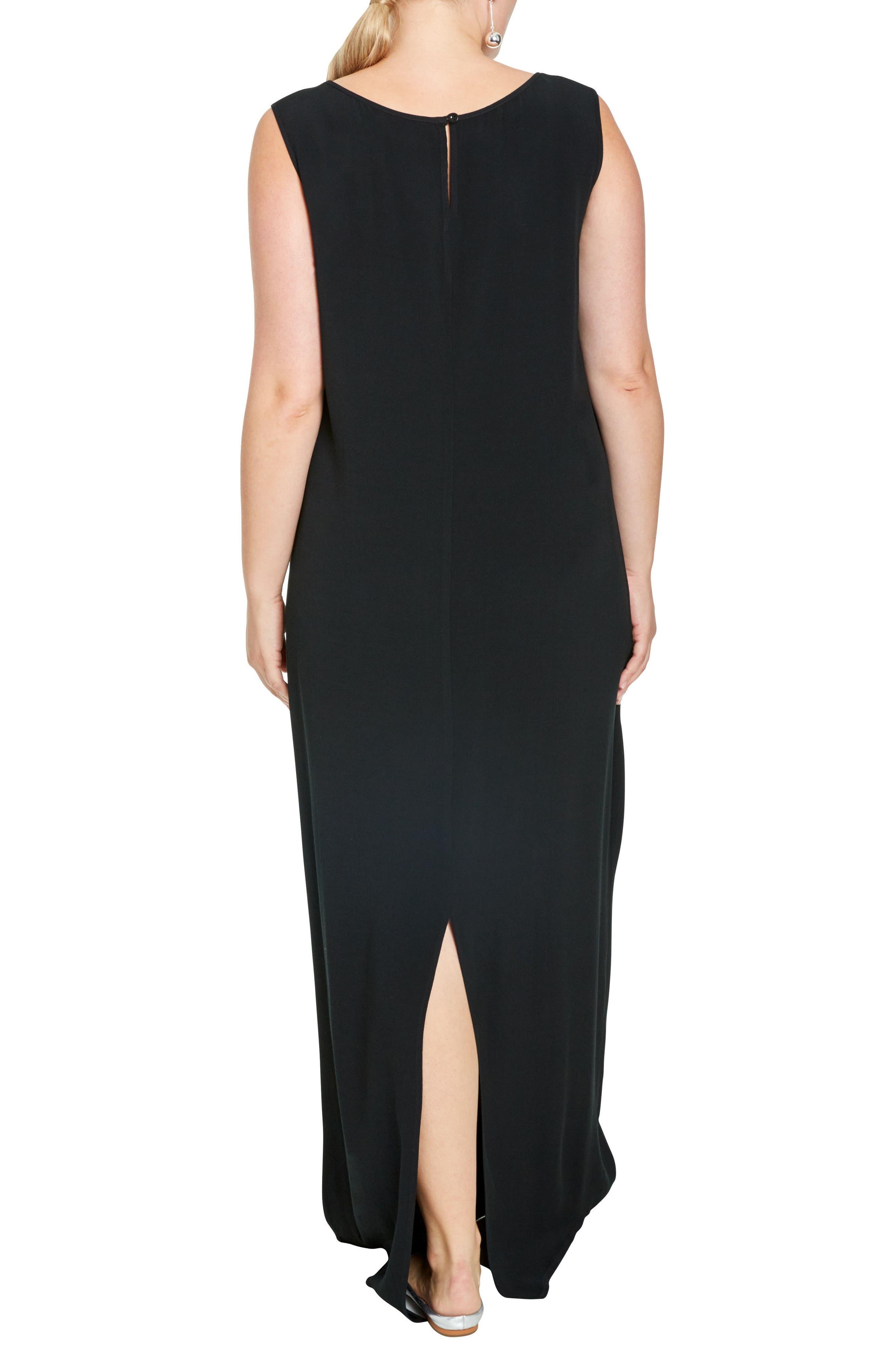 Alternate Image 2  - UNIVERSAL STANDARD Mera Crepe Gown (Plus Size)