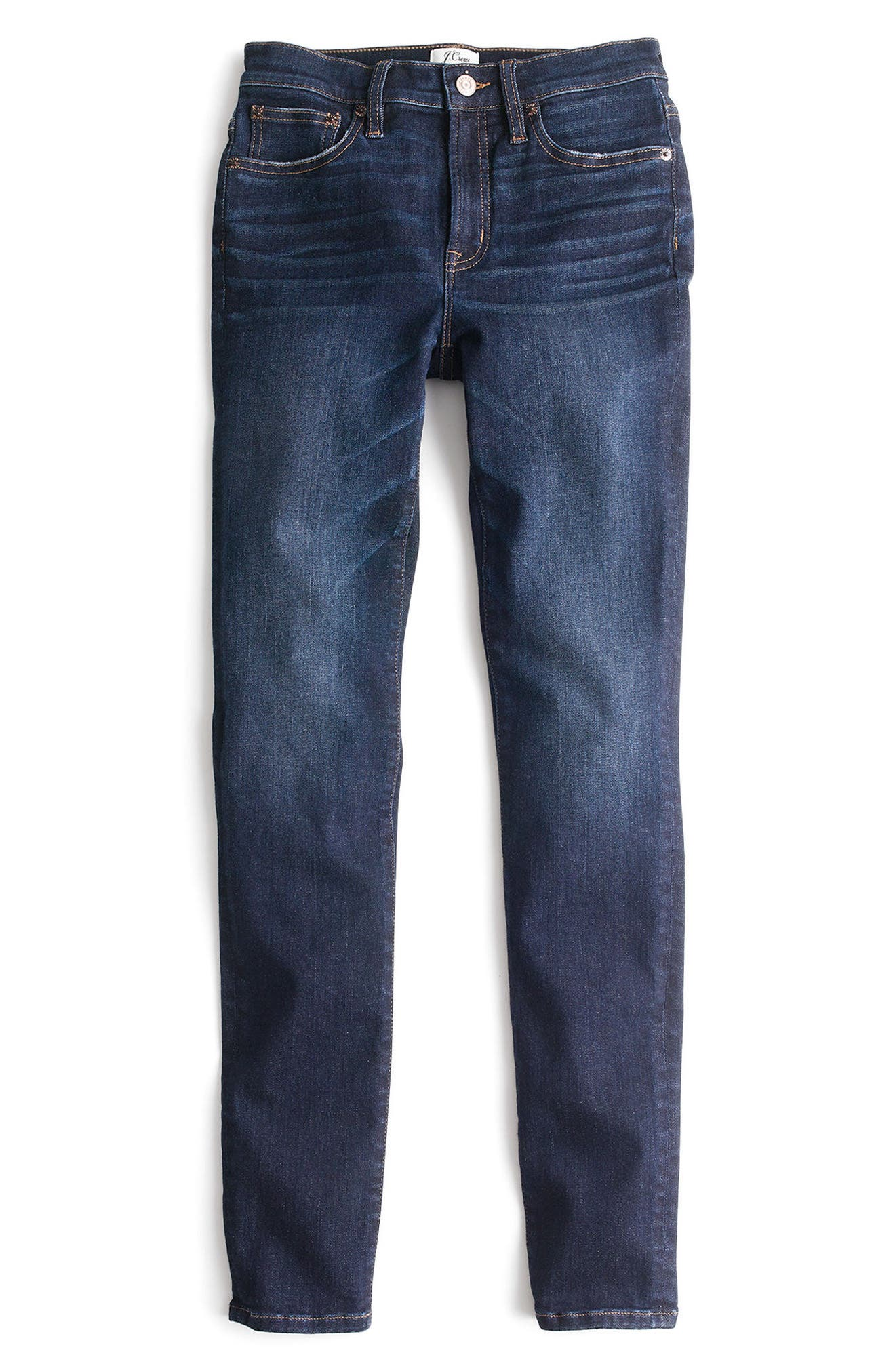 J.Crew High Rise Toothpick Jeans (Solano) (Regular & Petite)