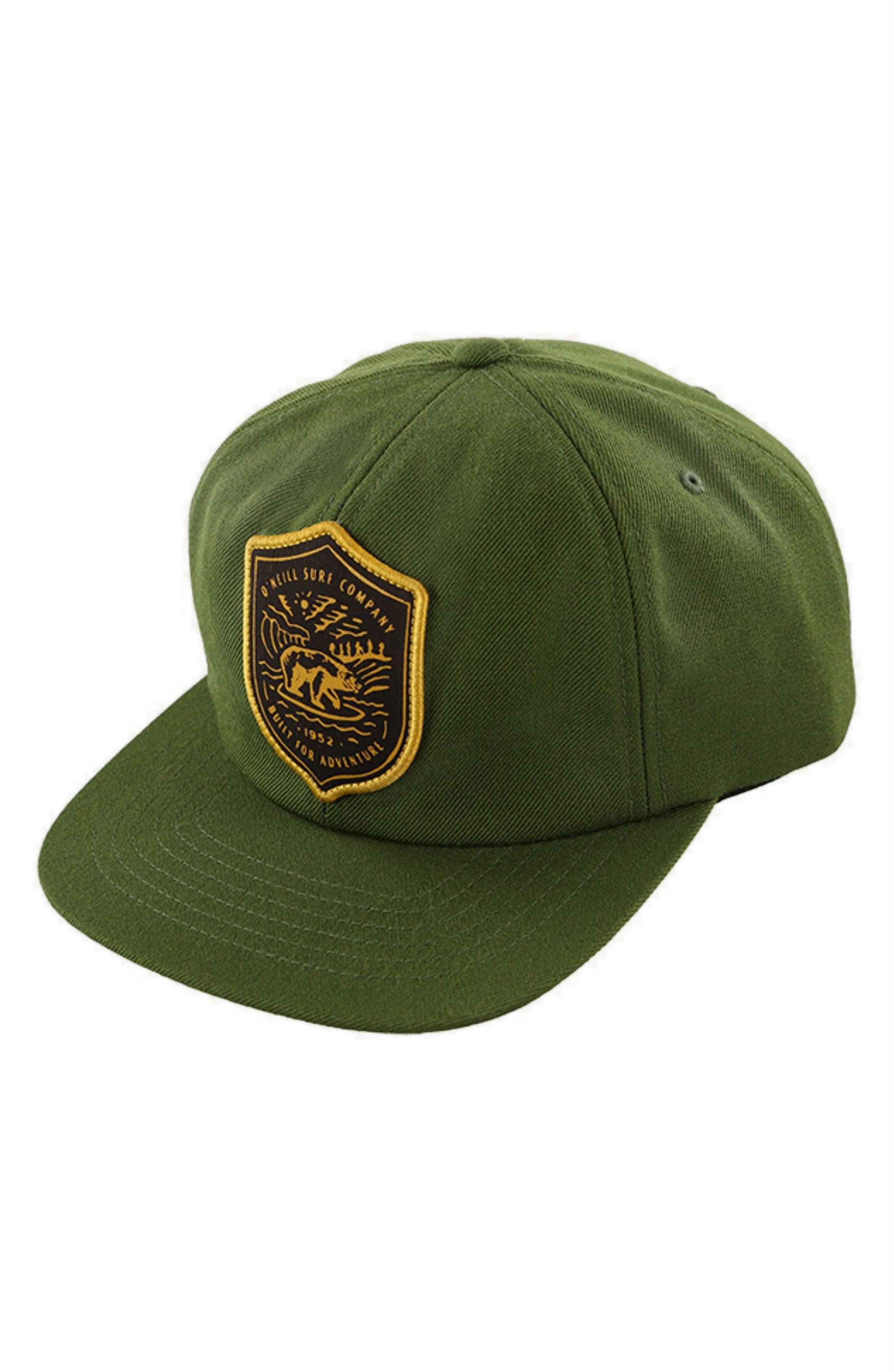 Ridgecrest Cap,                             Main thumbnail 1, color,                             Army Green