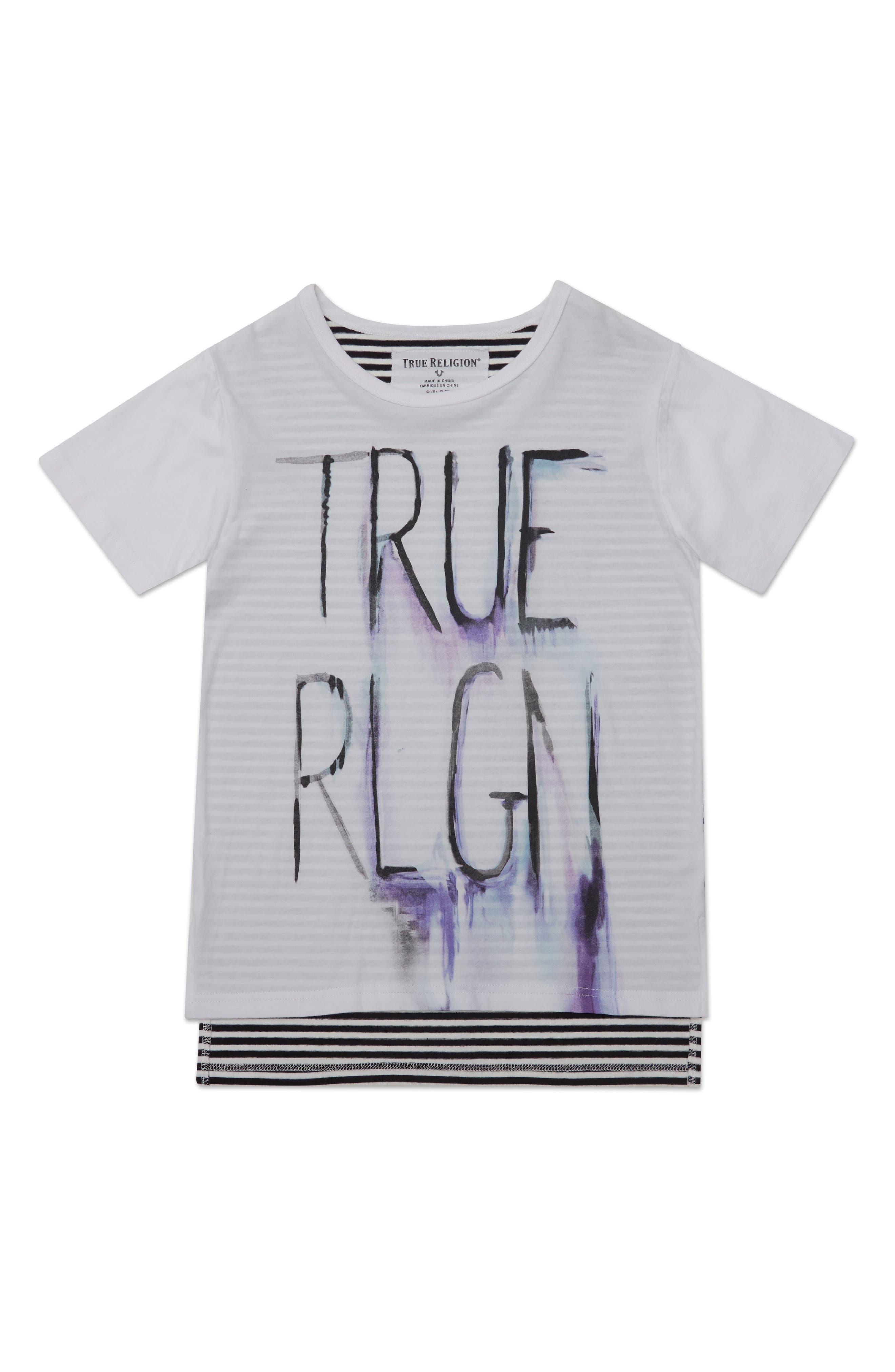 True Religion Brand Jeans Sketch Graphic T-Shirt (Toddler Boys & Little Boys)
