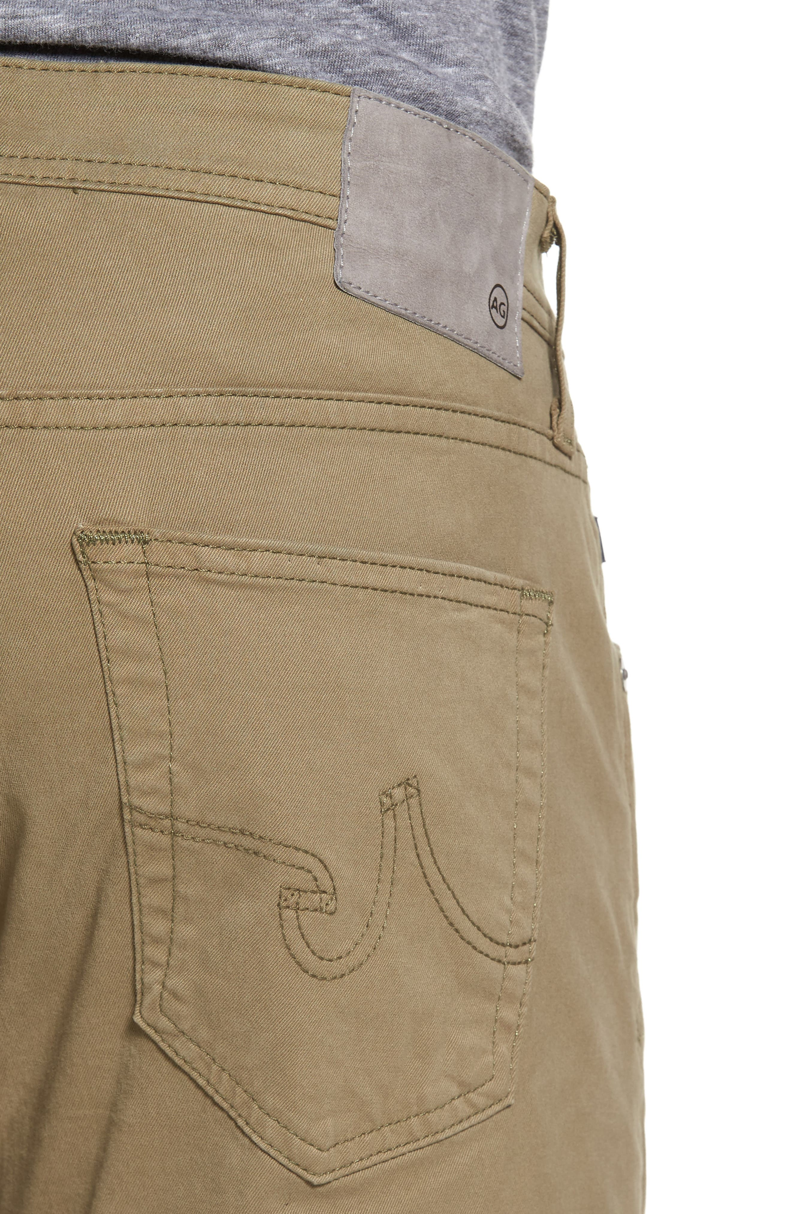 Alternate Image 4  - AG 'Matchbox BES' Slim Fit Pants