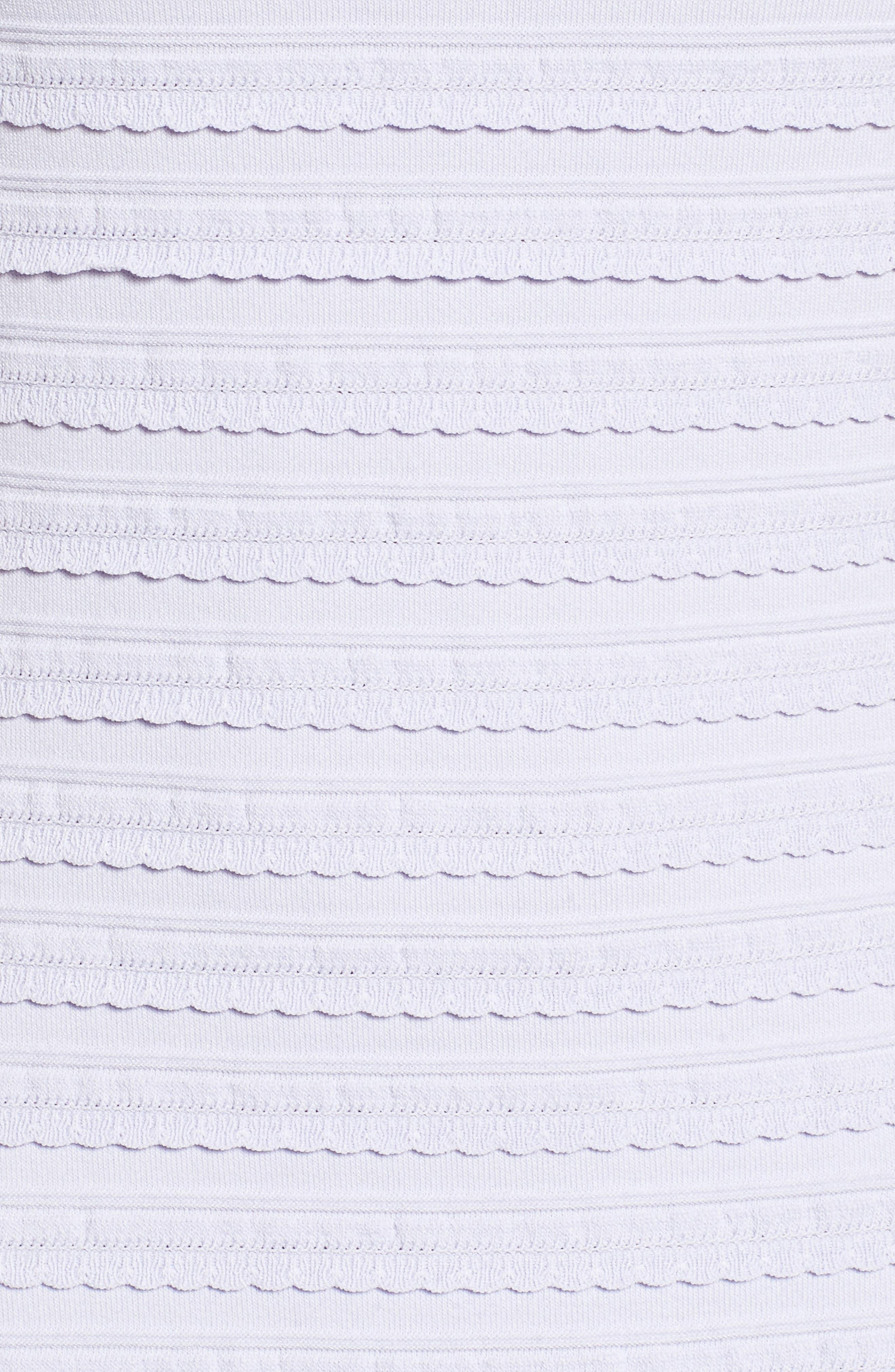 Tiered Sheath Dress,                             Alternate thumbnail 5, color,                             Light Quartz