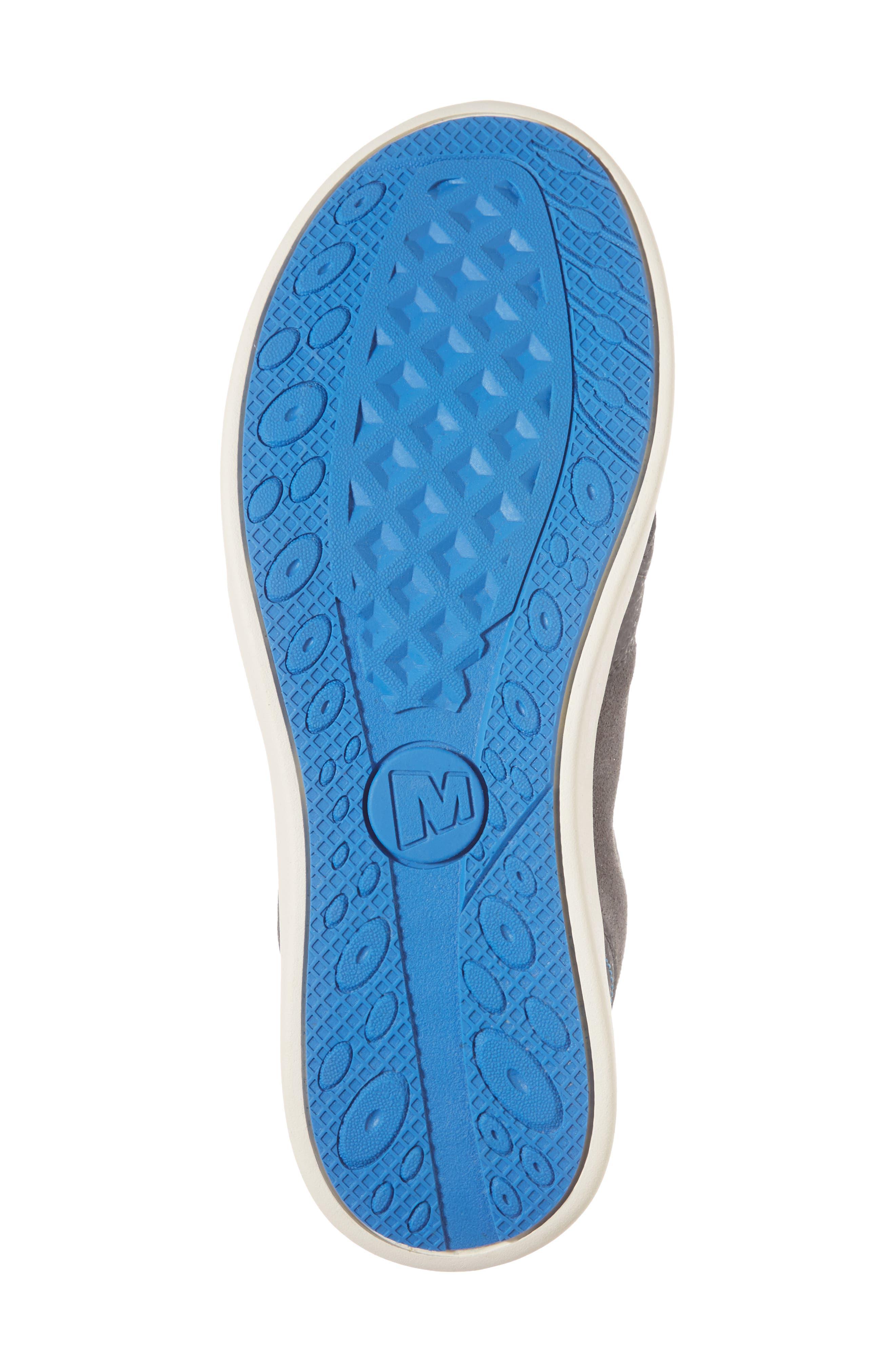 Freewheel Mid Top Waterproof Sneaker Boot,                             Alternate thumbnail 6, color,                             Grey