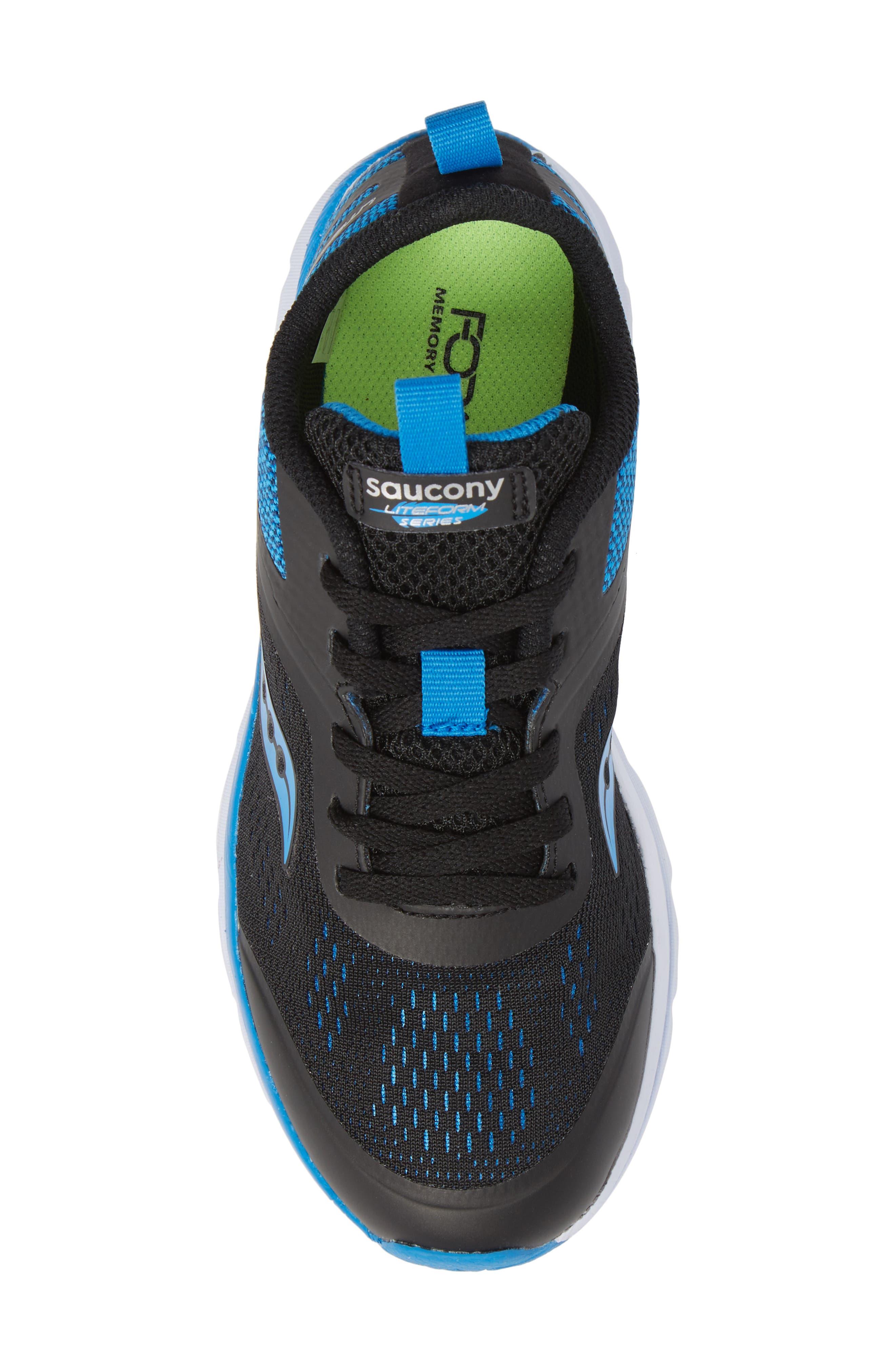 Alternate Image 5  - Saucony Liteform Miles Sneaker (Toddler, Little Kid & Big Kid)