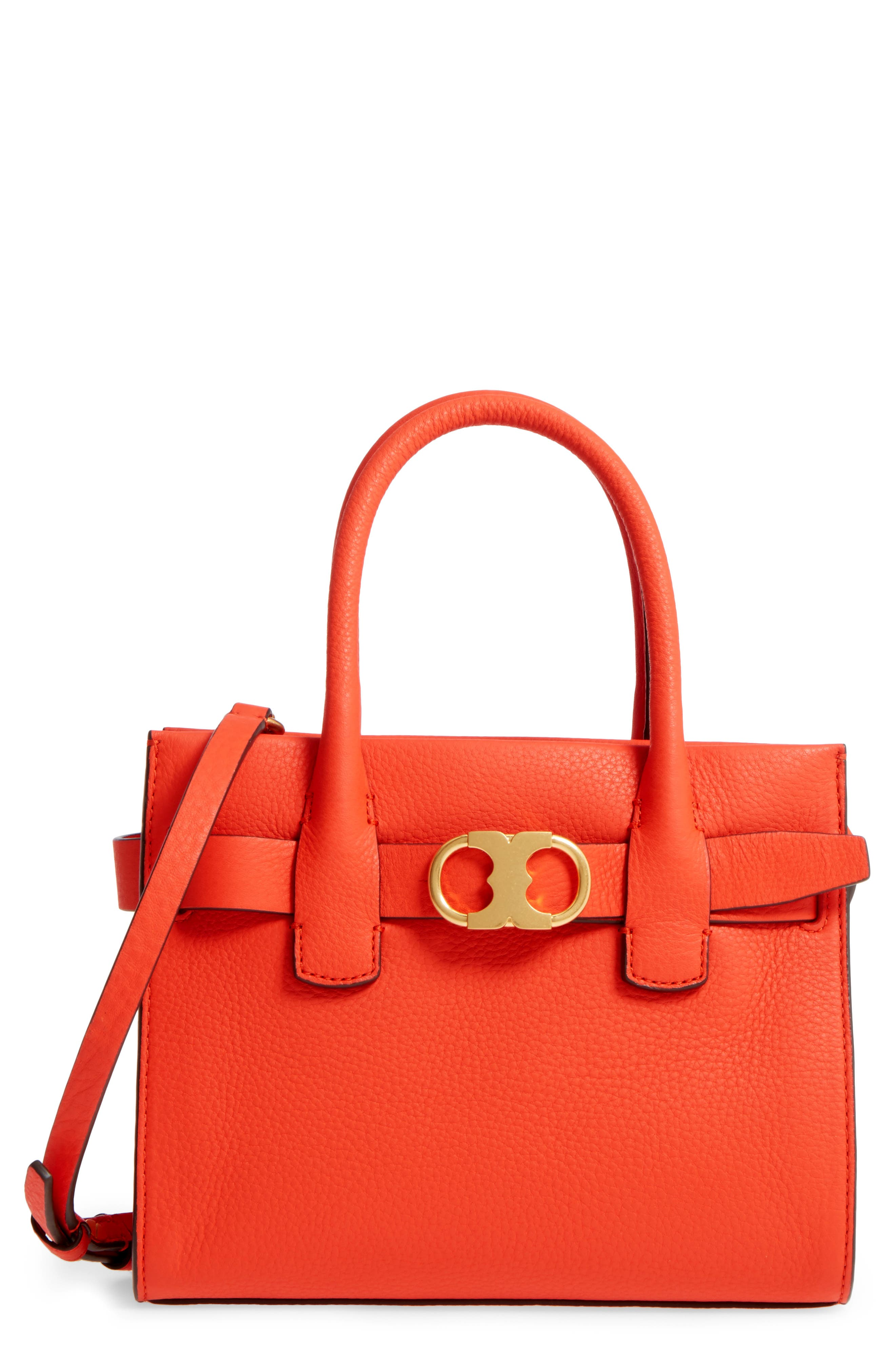 Alternate Image 1 Selected - Tory Burch Small Gemini Link Leather Tote