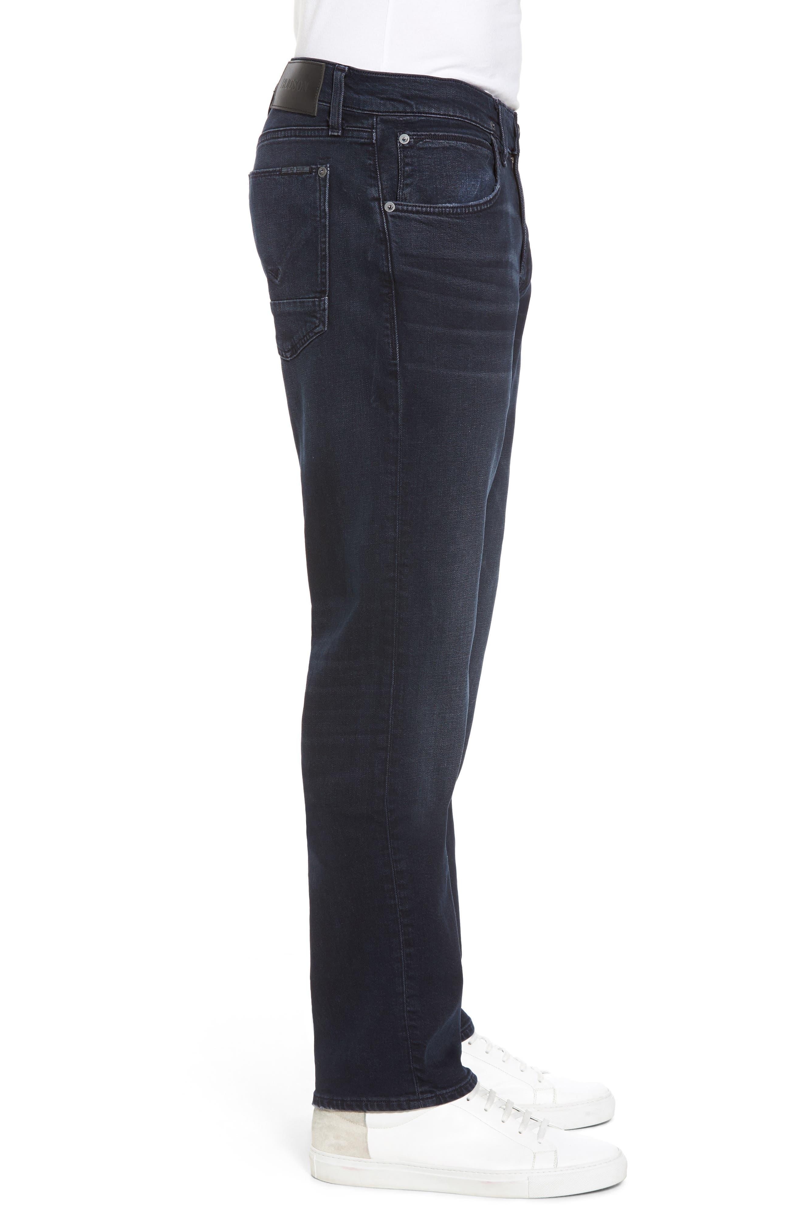 Byron Slim Straight Leg Jeans,                             Alternate thumbnail 3, color,                             Threaten
