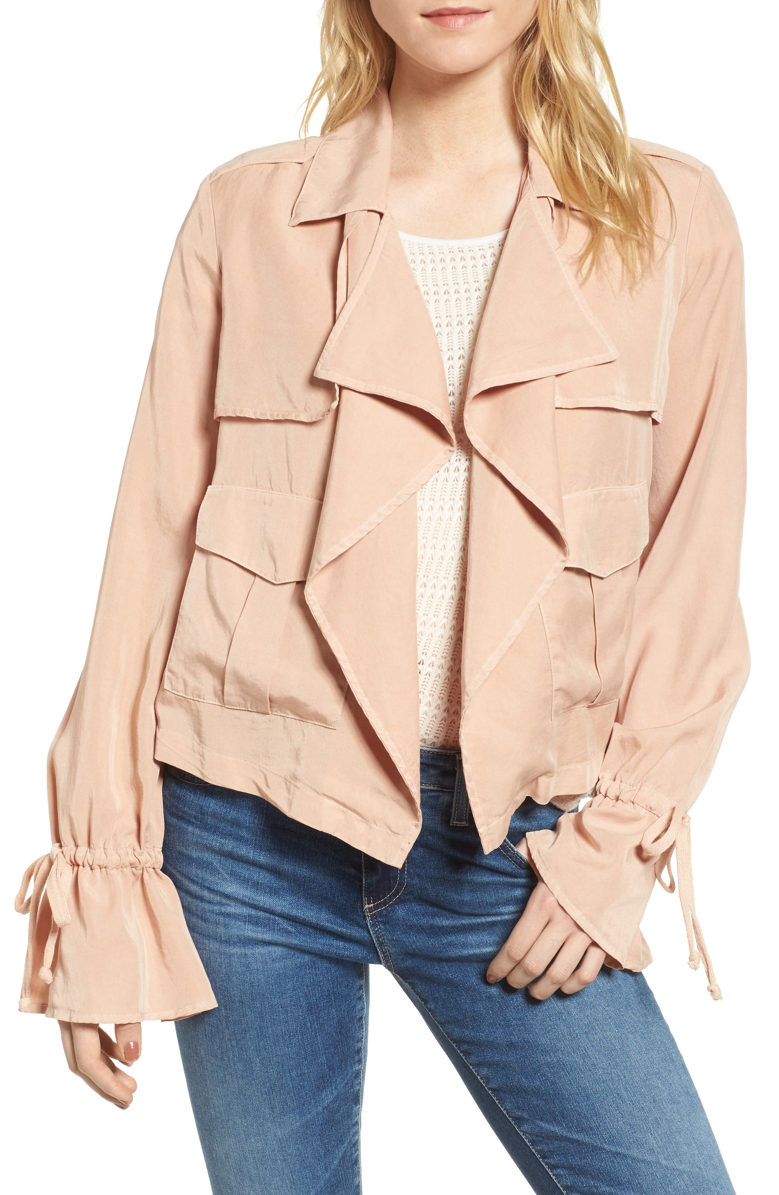 Ella Moss Open Front Jacket