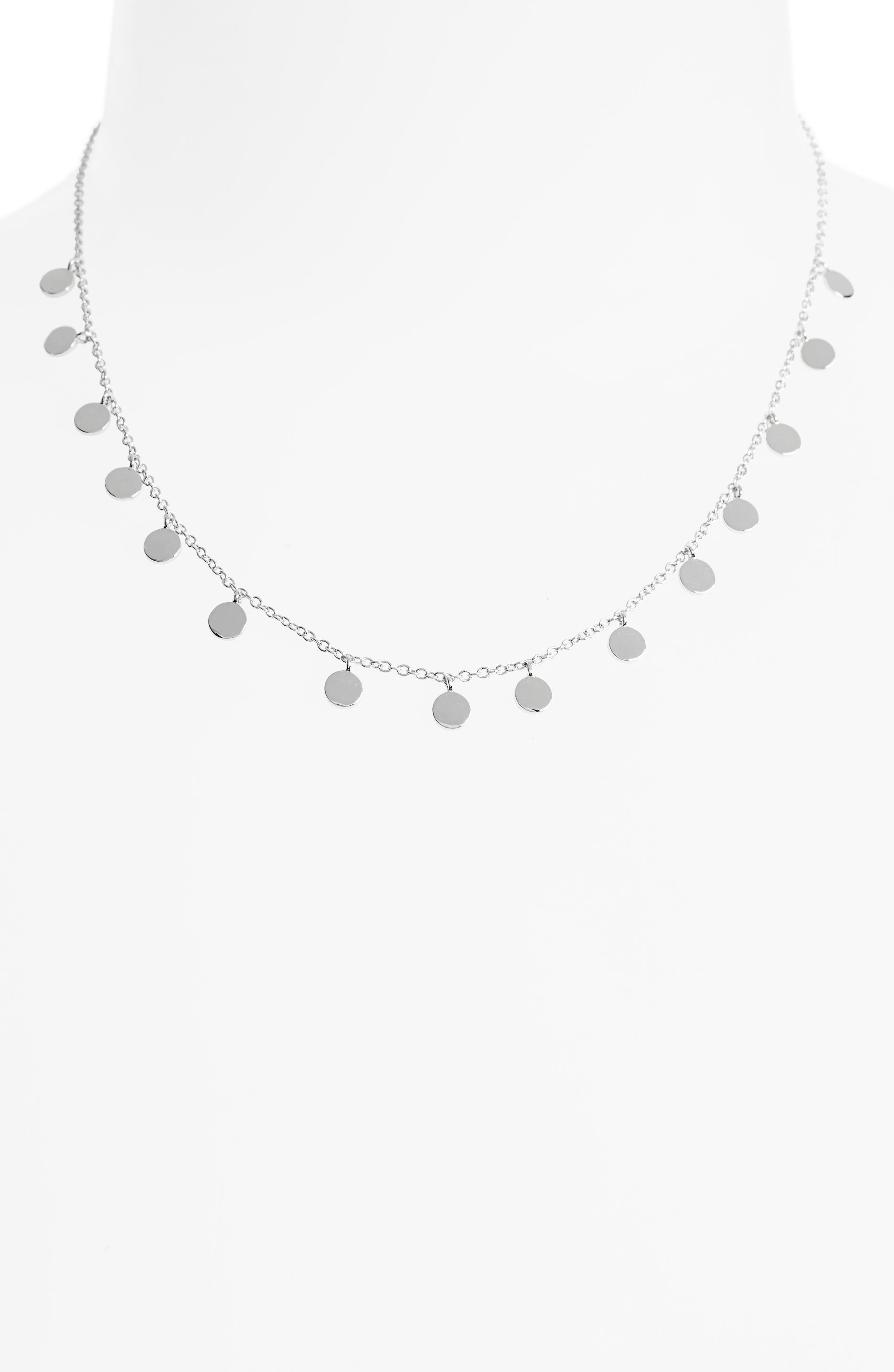 Alternate Image 2  - Melanie Auld Mini Disc Collar Necklace
