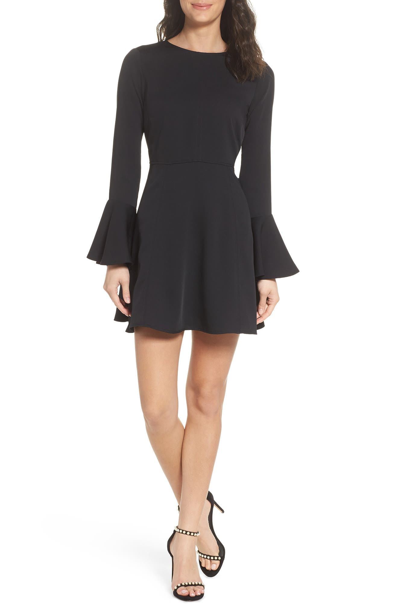Chelsea28 Bell Sleeve Fit & Flare Dress