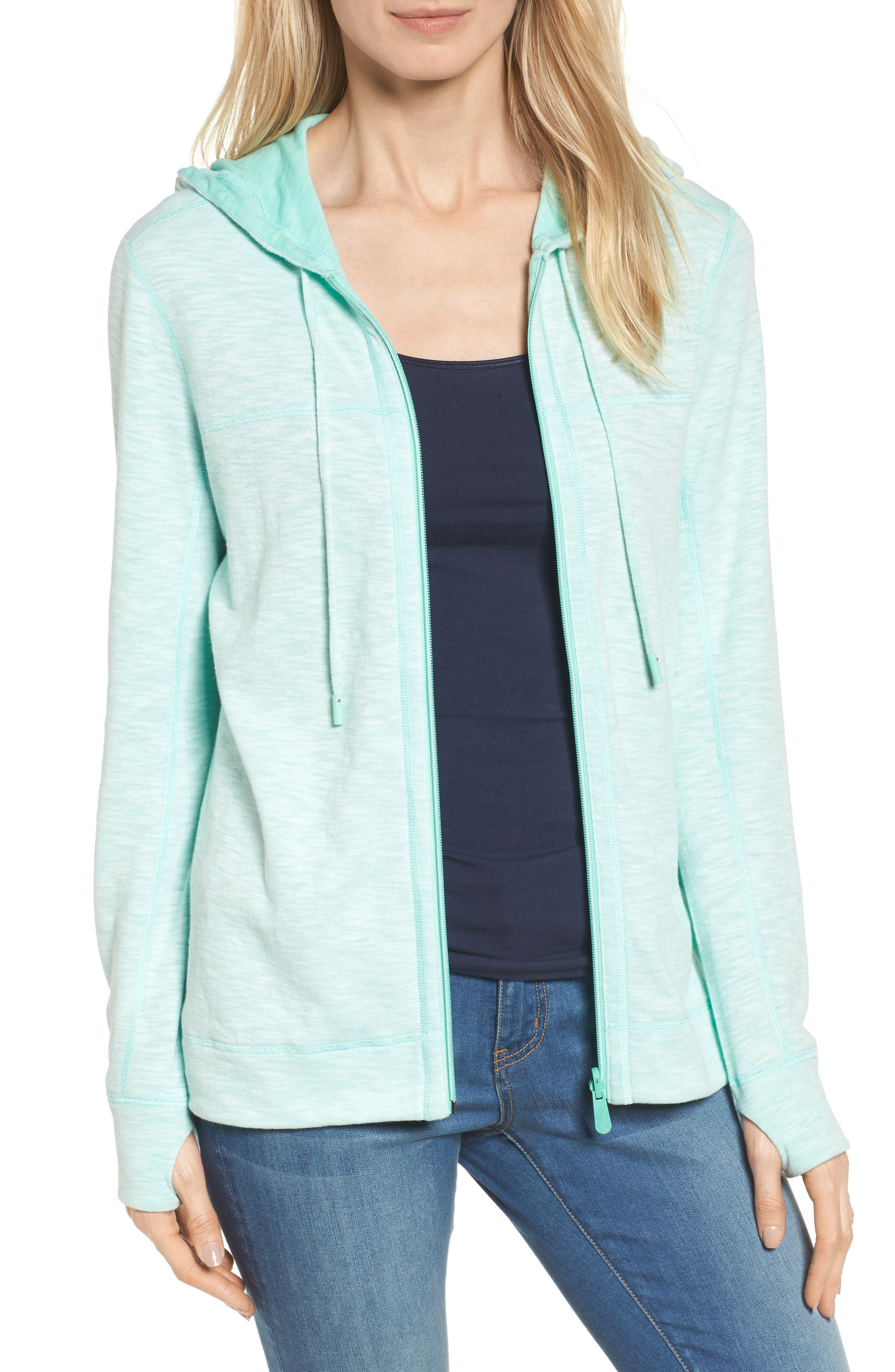 Tommy Bahama Deux Reversible Front Zip Hoodie