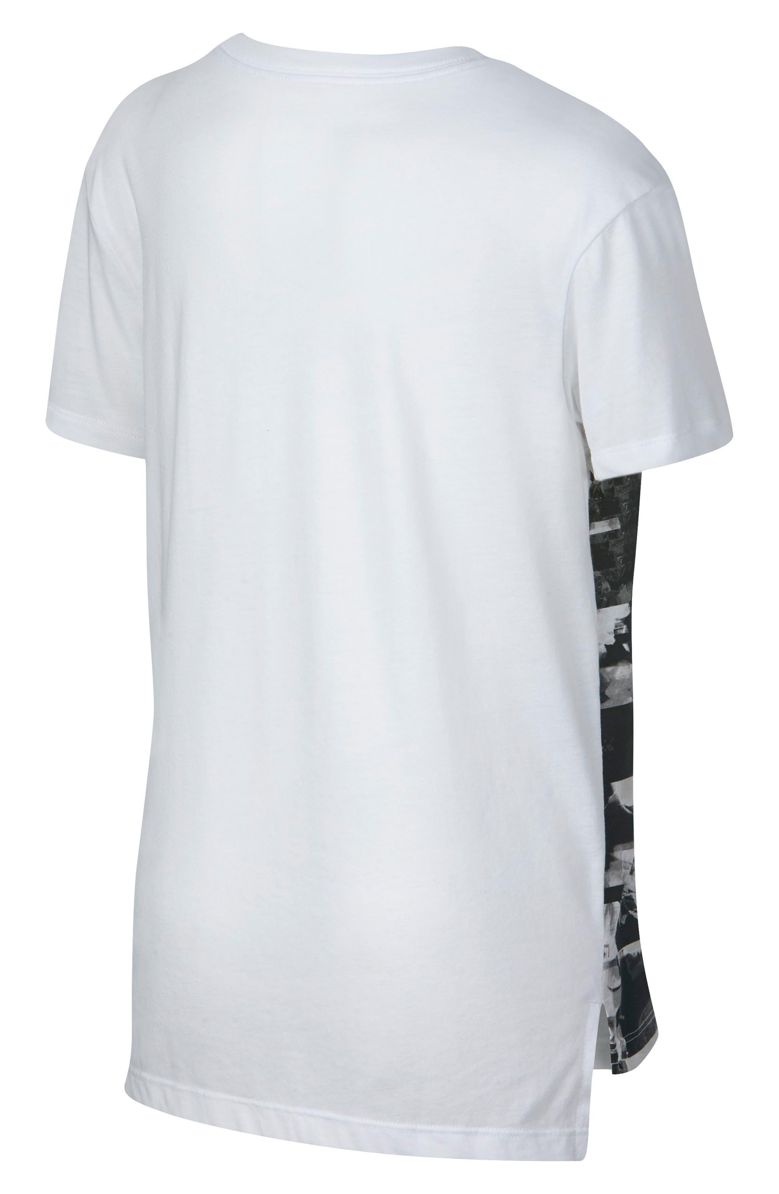 Alternate Image 2  - Nike Hyperfade Graphic Tee (Big Girls)