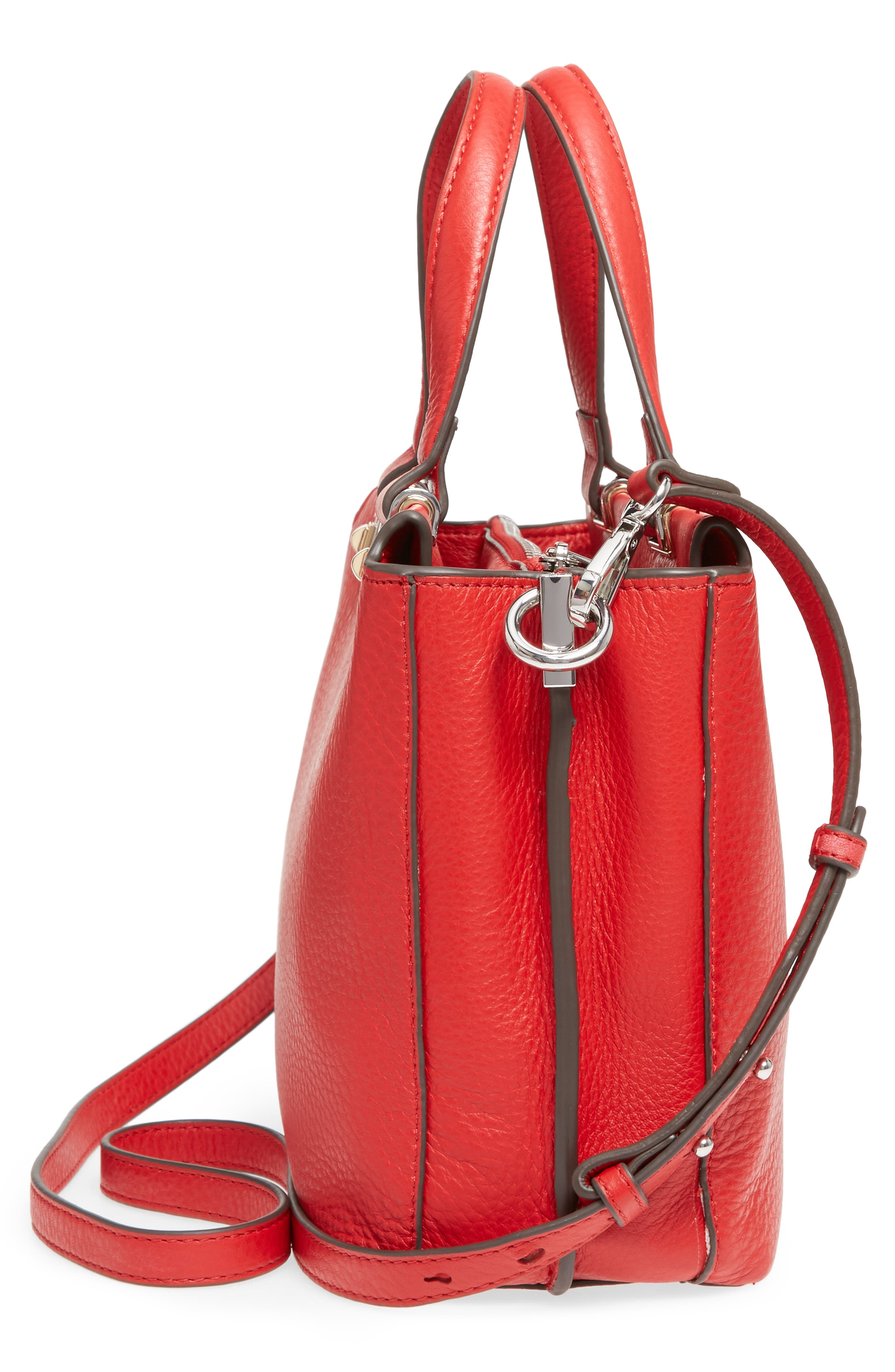 Alternate Image 5  - Vince Camuto Bitty Leather Satchel