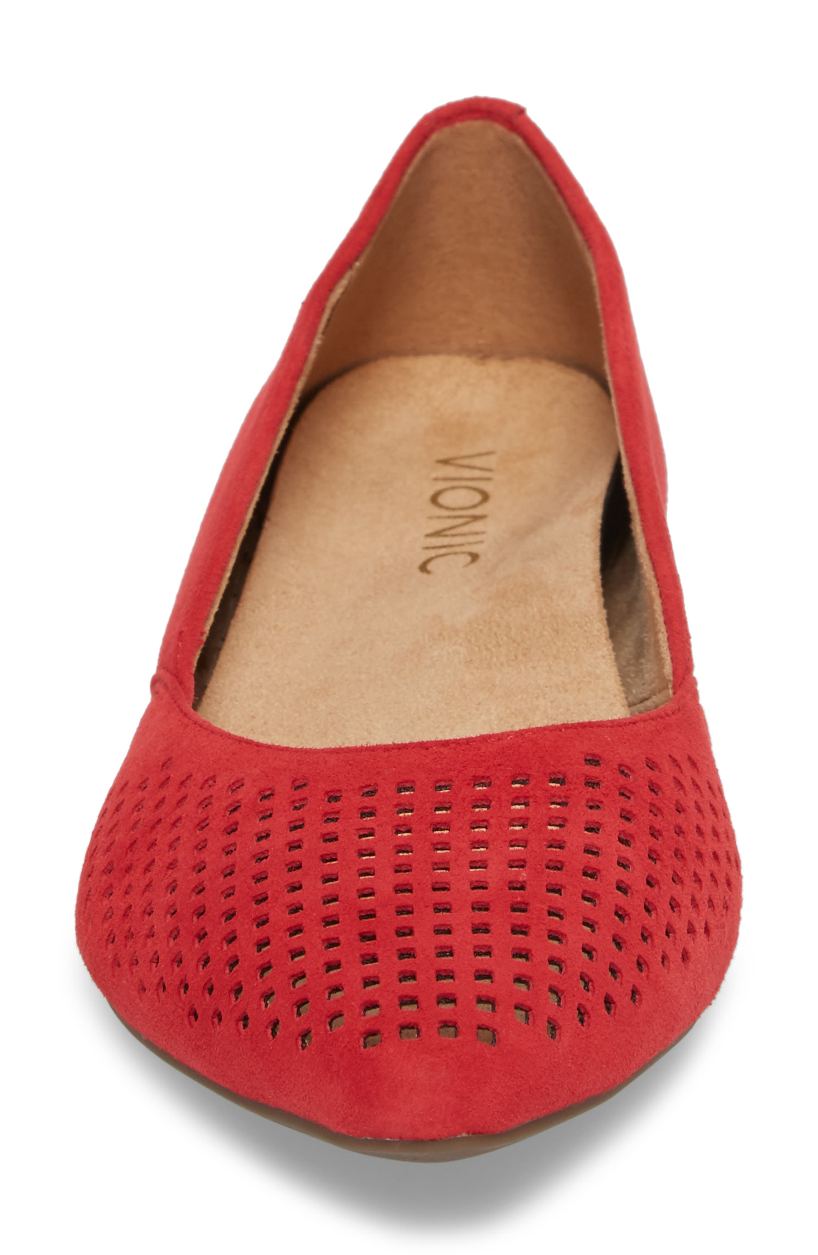 Alternate Image 4  - Vionic Posey Flat (Women)