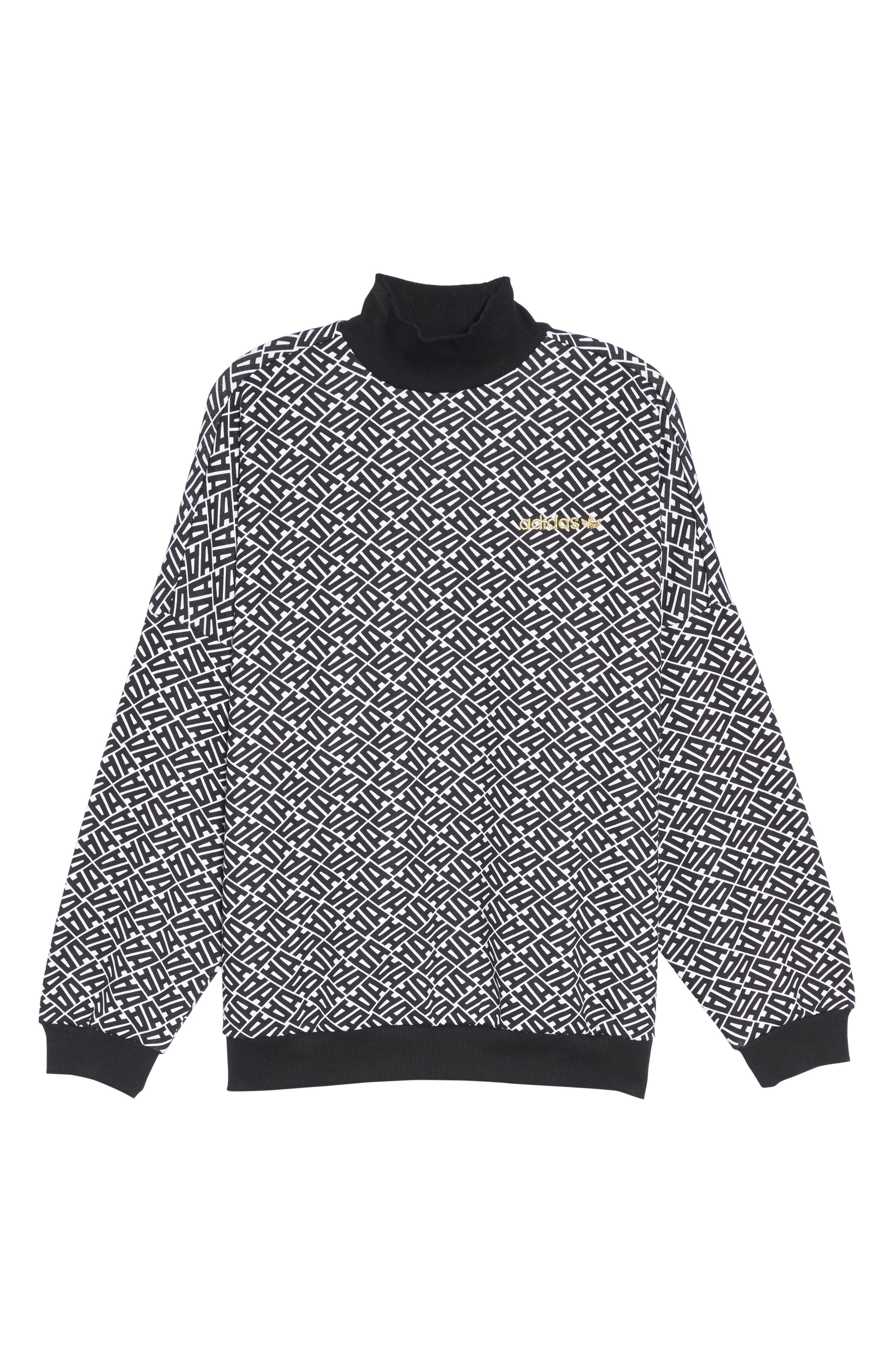 Alternate Image 6  - adidas AOP Print Sweatshirt