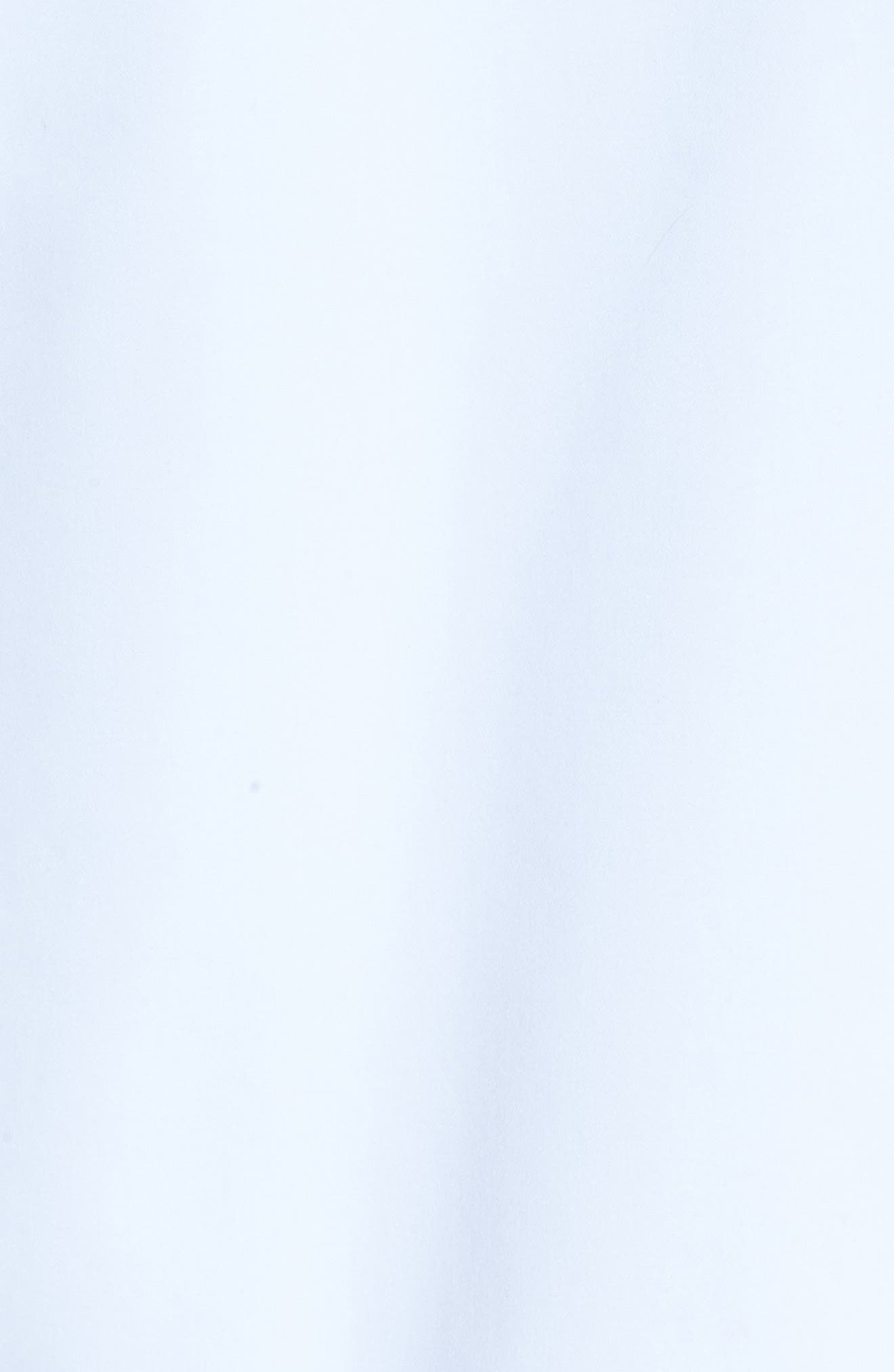 Mesh Trim Woven Jacket,                             Alternate thumbnail 5, color,                             White/ Navy
