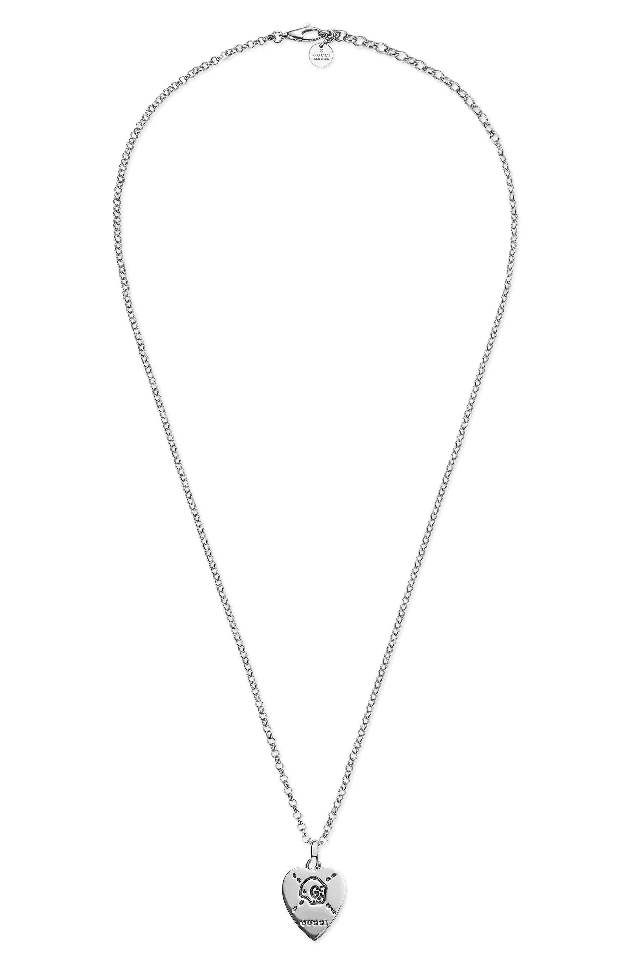 GucciGhost Pendant Necklace
