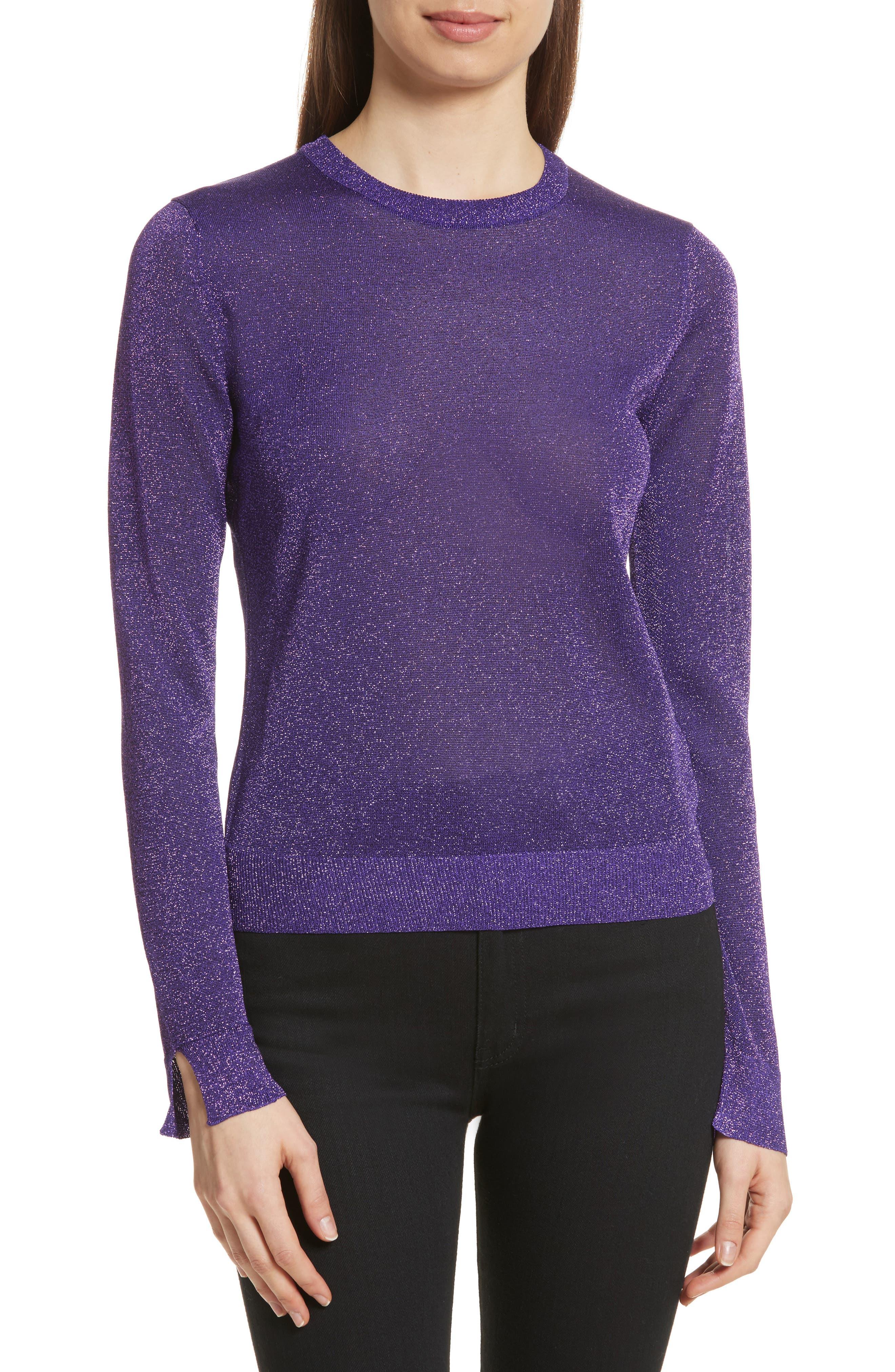 KENZO Metallic Knit Sweater