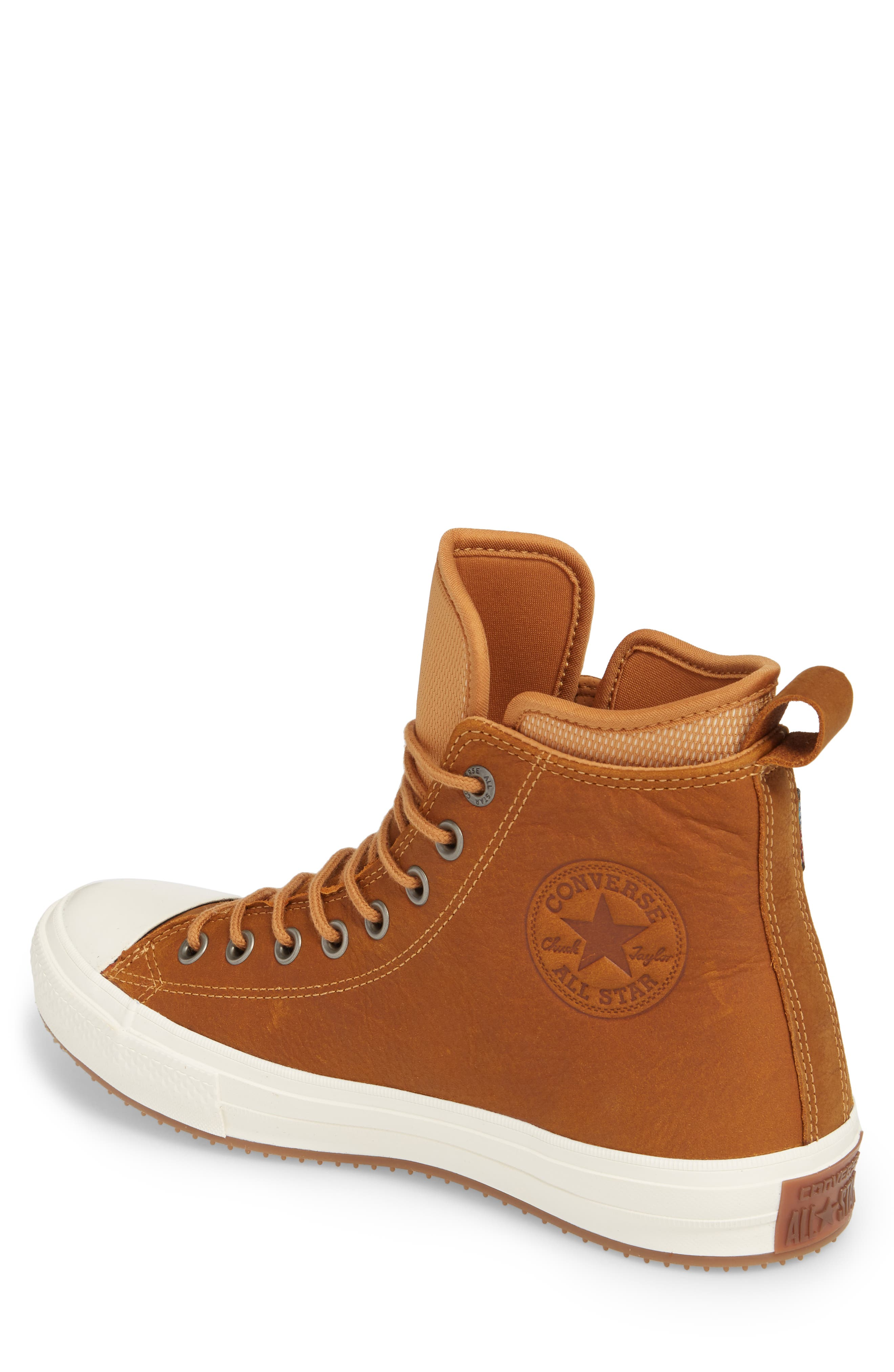 Chuck Taylor<sup>®</sup> All Star<sup>®</sup> Waterproof Sneaker,                             Alternate thumbnail 2, color,                             Raw Sugar