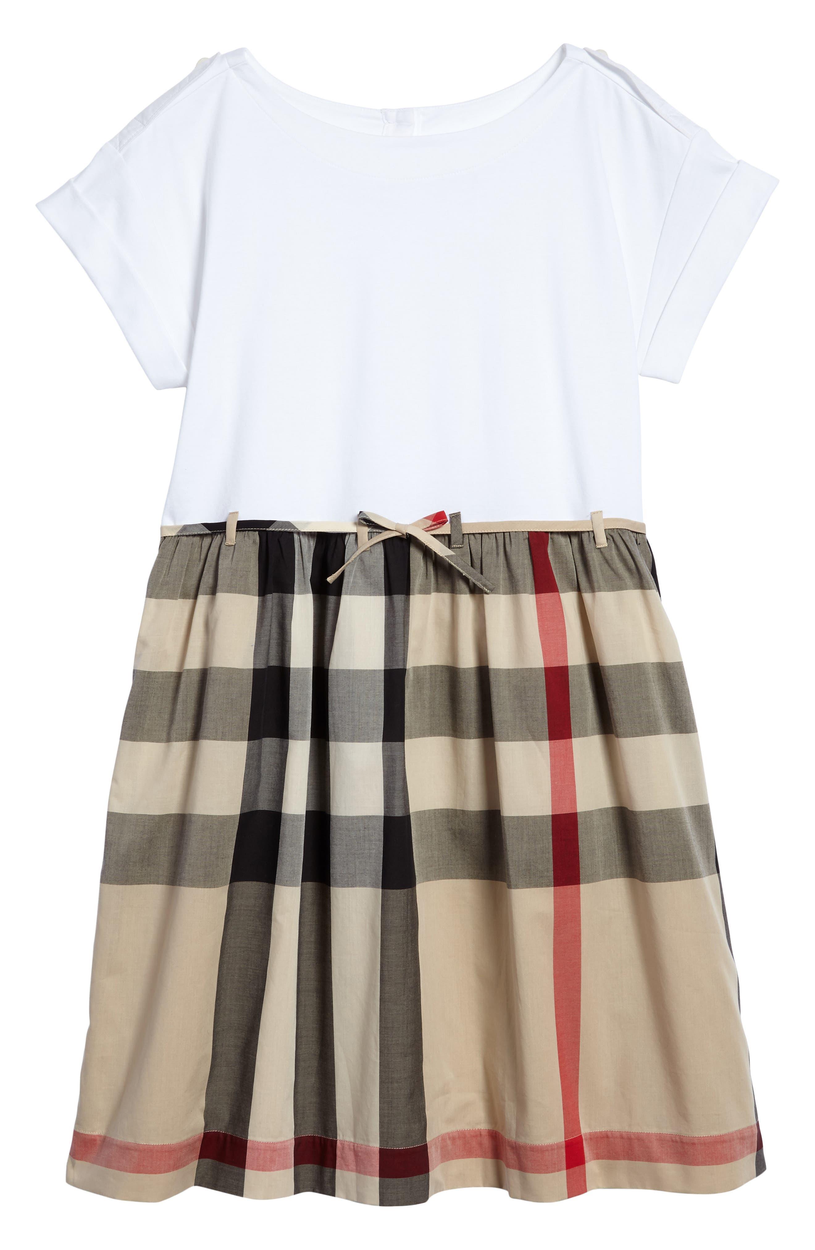 Burberry Rhonda Check Dress (Little Girls & Big Girls)