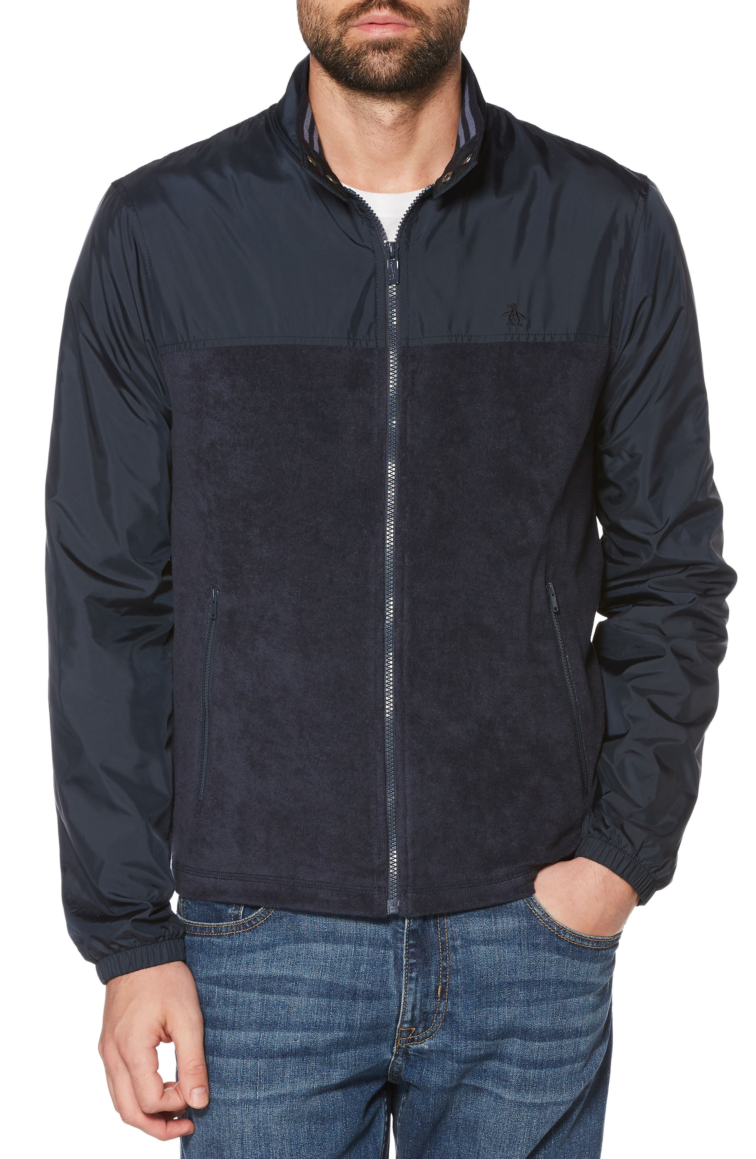 Alternate Image 1 Selected - Original Penguin Vintage Gym Ratner Jacket