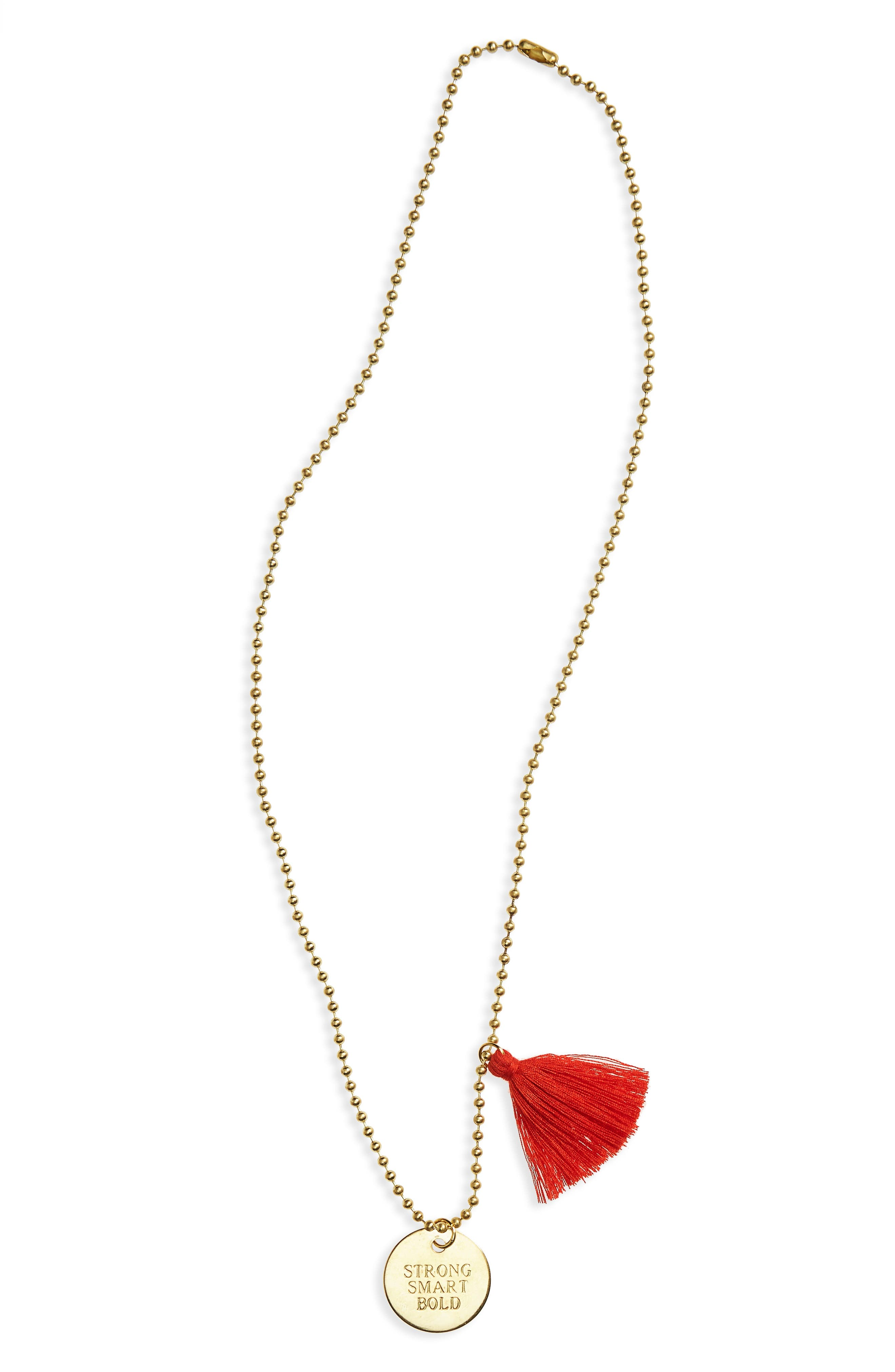 Little Lux Smart Strong Bold Pendant Necklace (Girls)