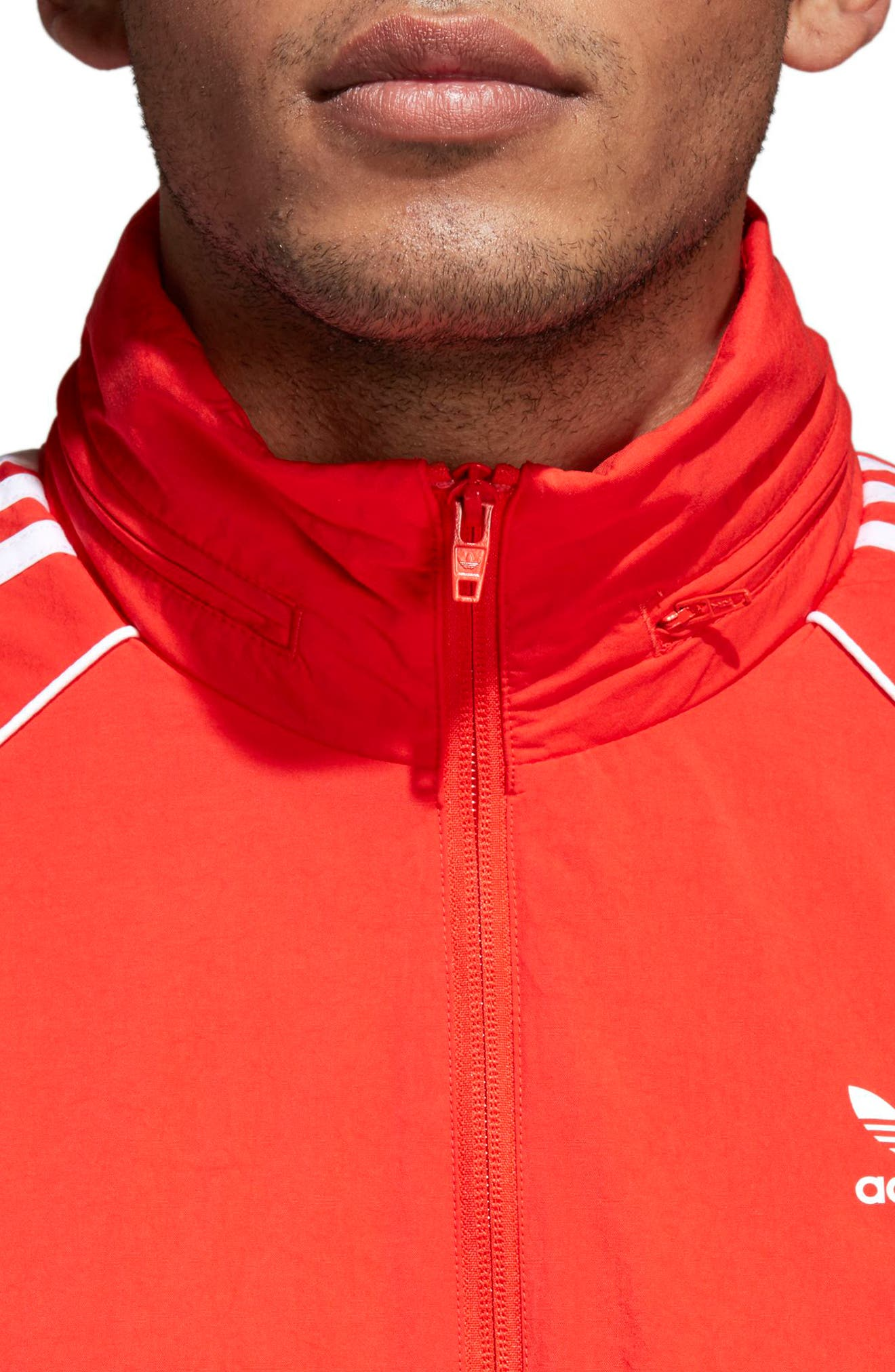 Alternate Image 4  - adidas Originals SST Windbreaker
