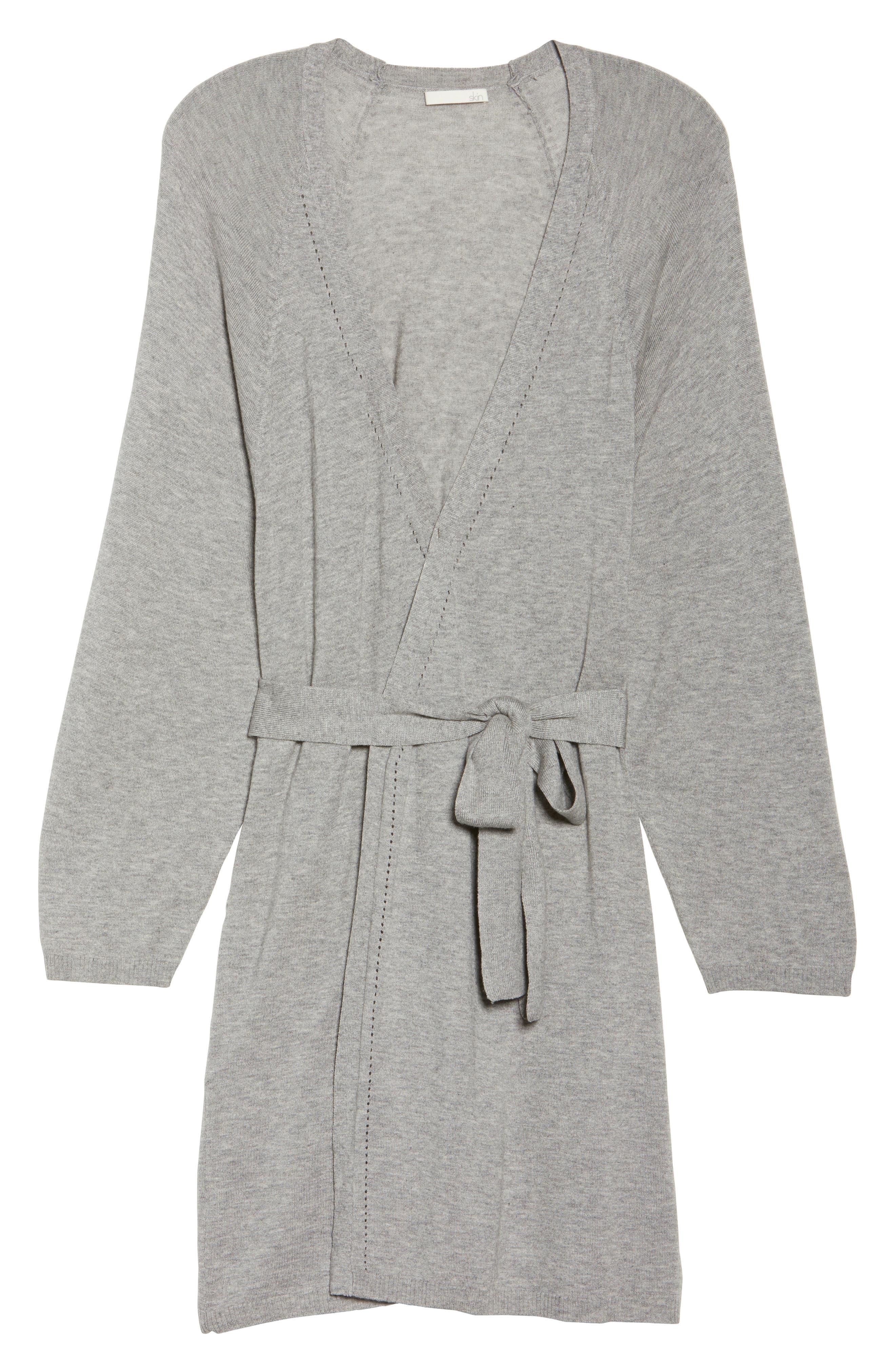 Alternate Image 4  - skin Mina Short Robe