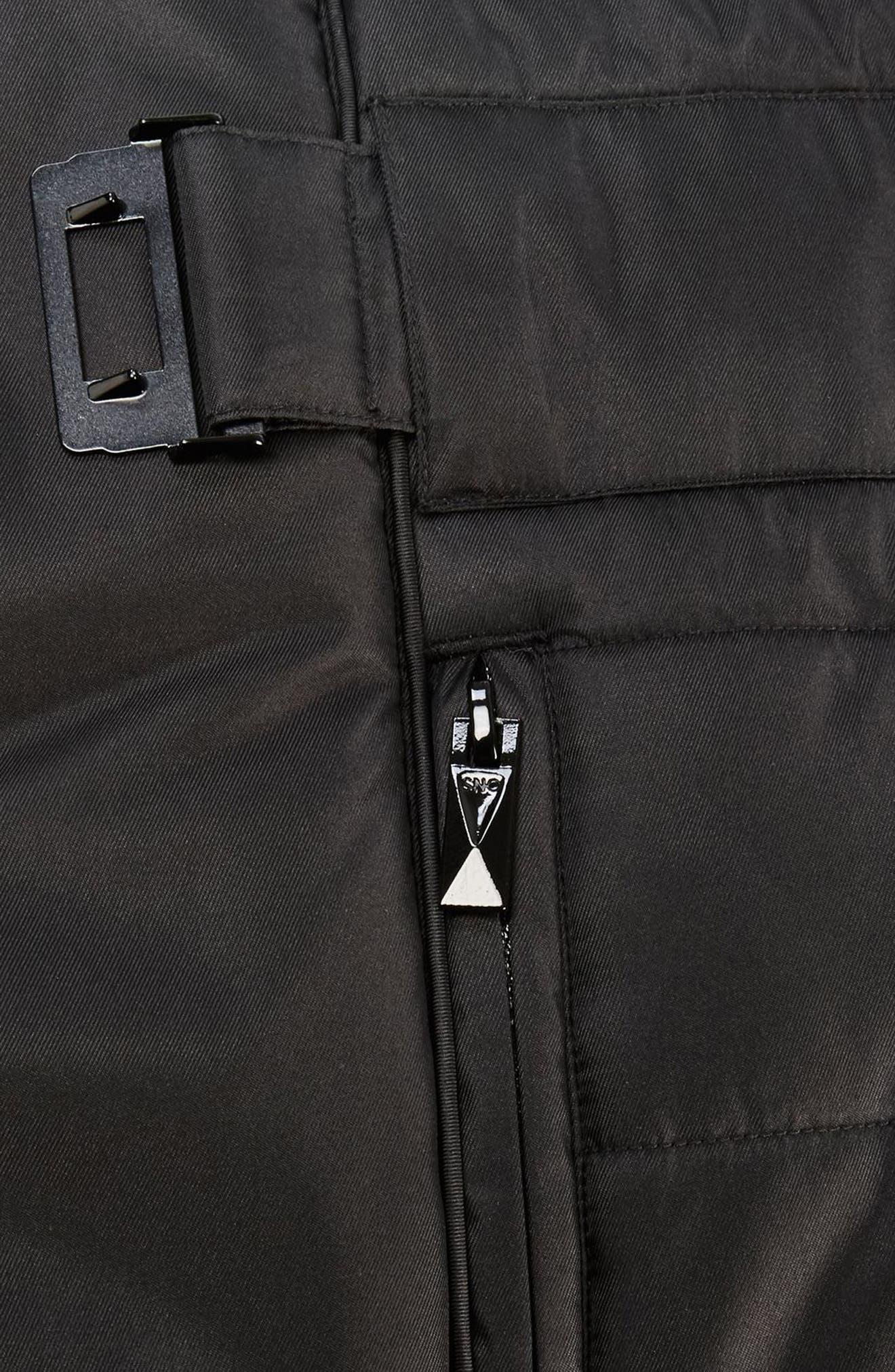 SNO Amazon Puffer Jacket,                             Alternate thumbnail 5, color,                             Black