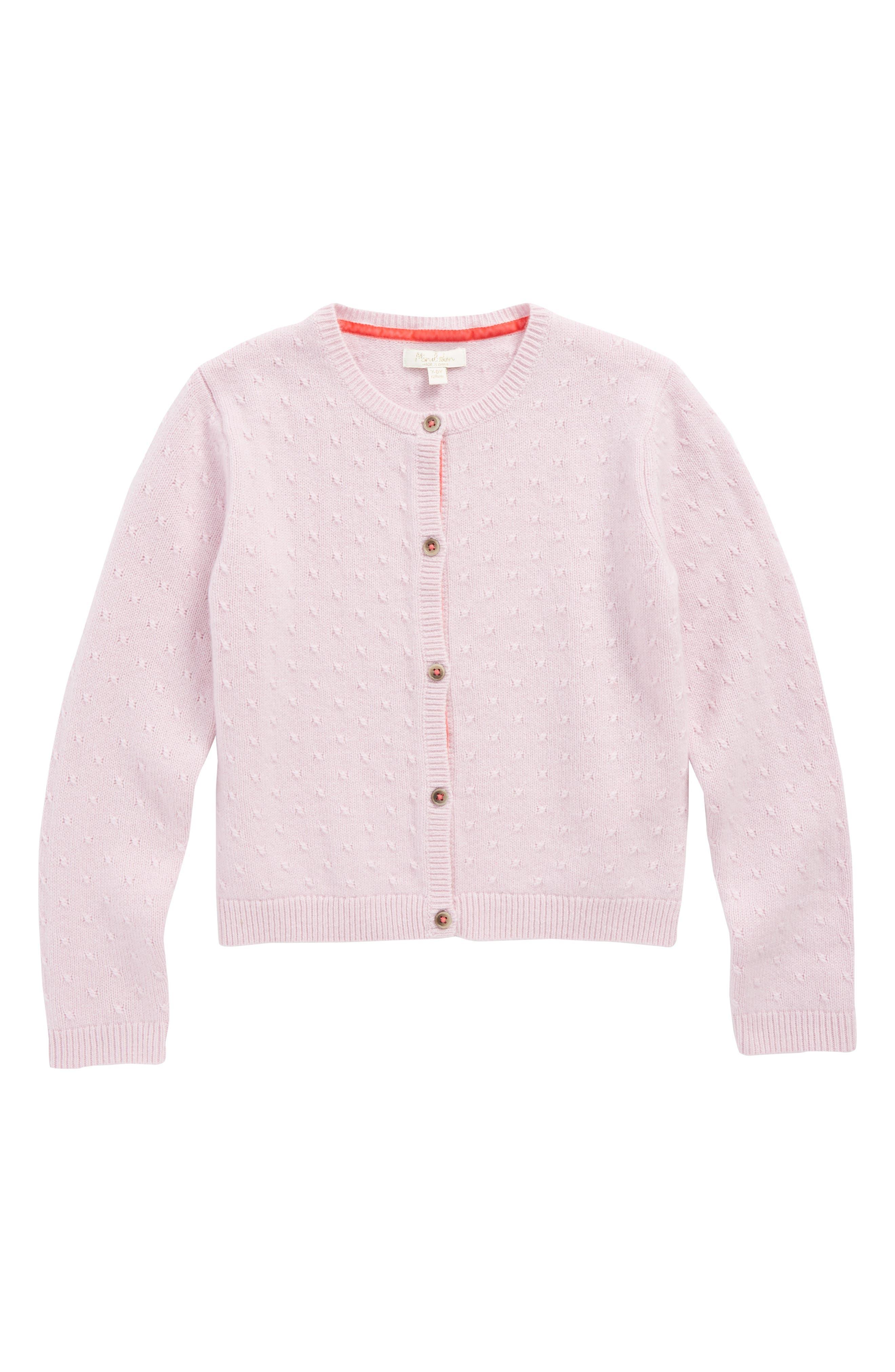 Mini Boden Cashmere Cardigan (Toddler Girls, Little Girls & Big Girls)