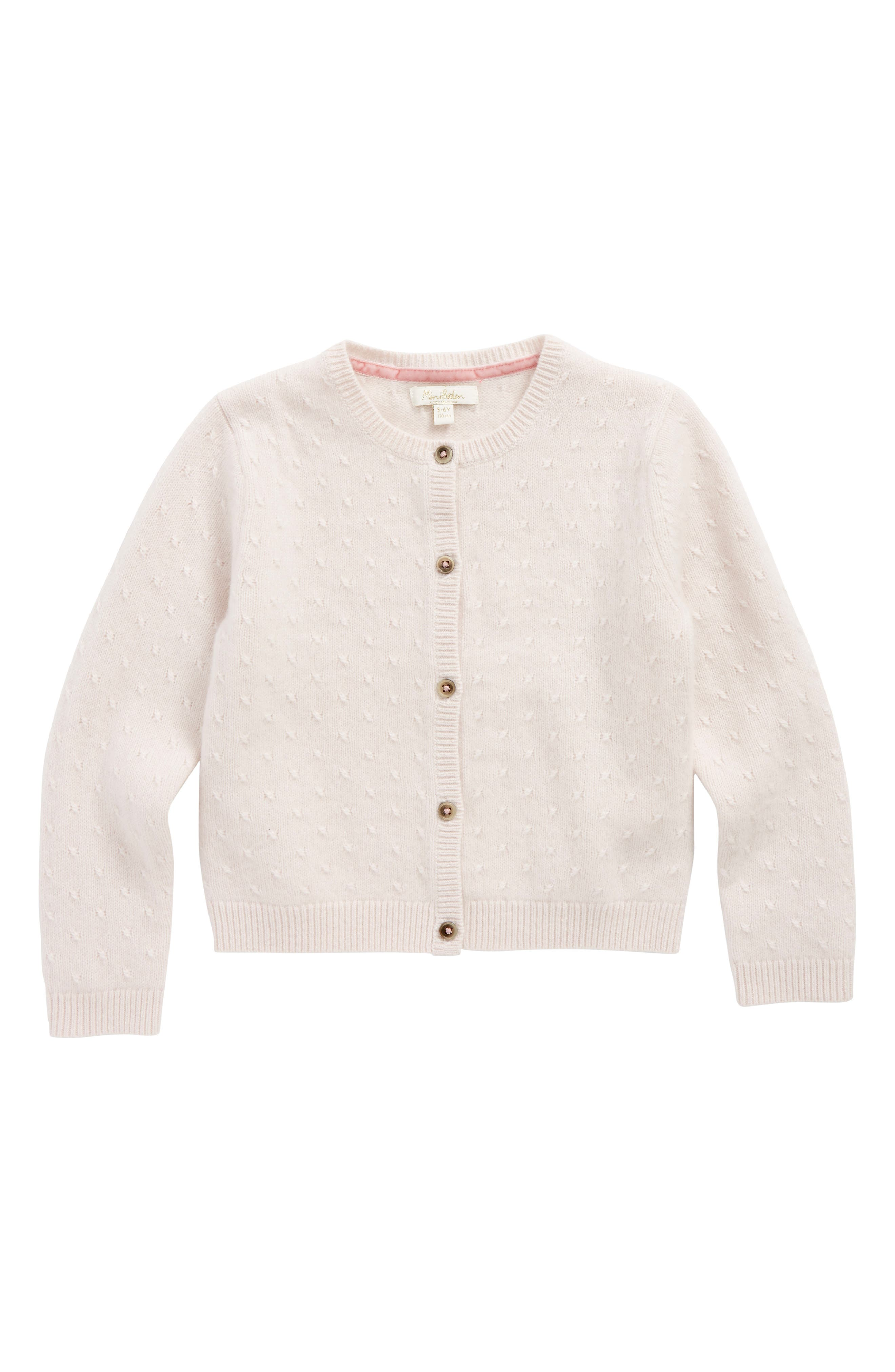 Mini Boden Cashmere Cardigan (Toddler Girls, Little Girls & Big Girls)