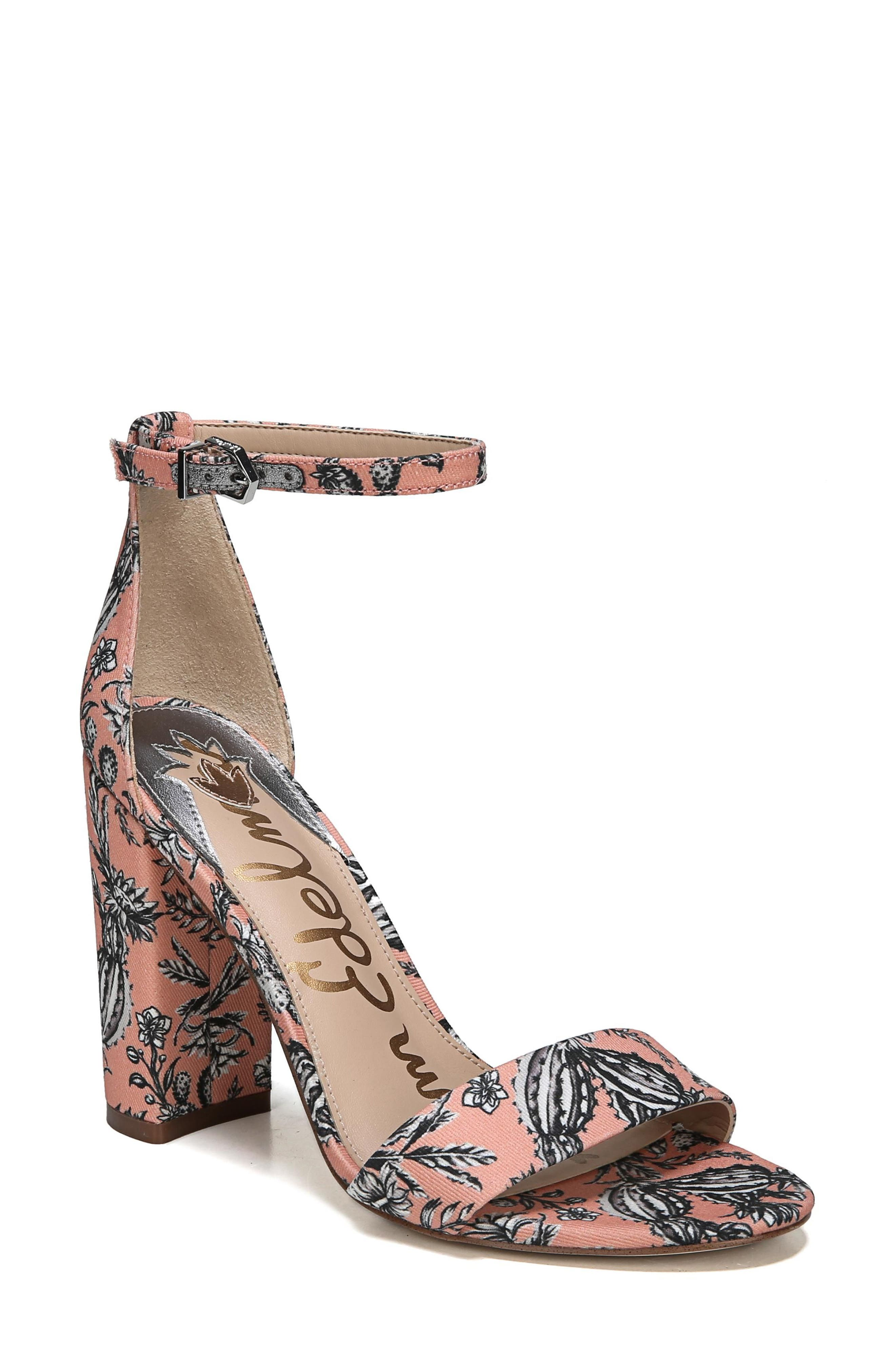 Find Sam Edelman Bonnie Womens Wedge Papaya Punch Velour Suede SX