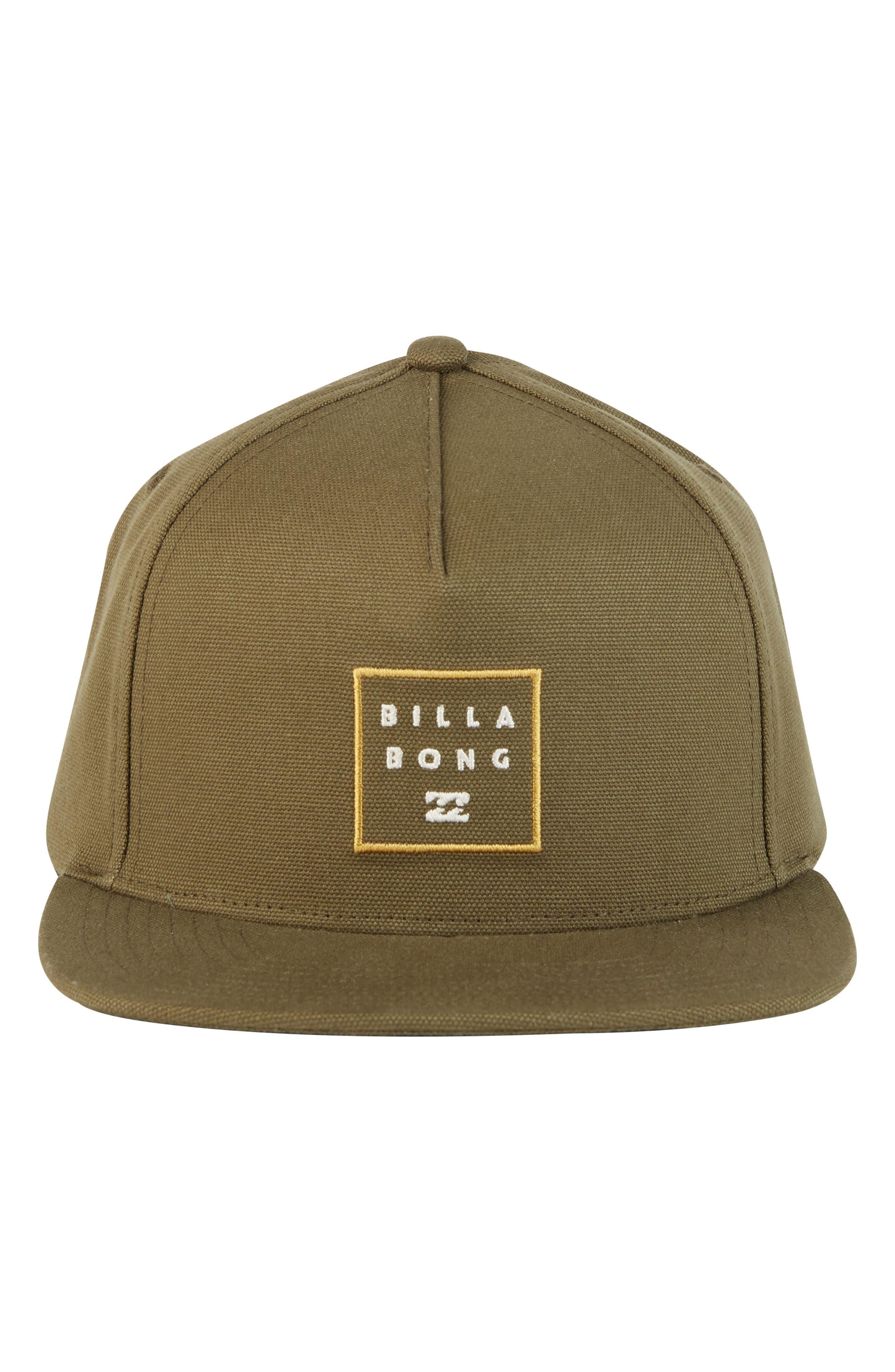 Stacked Snapback Baseball Cap,                             Alternate thumbnail 3, color,                             Olive