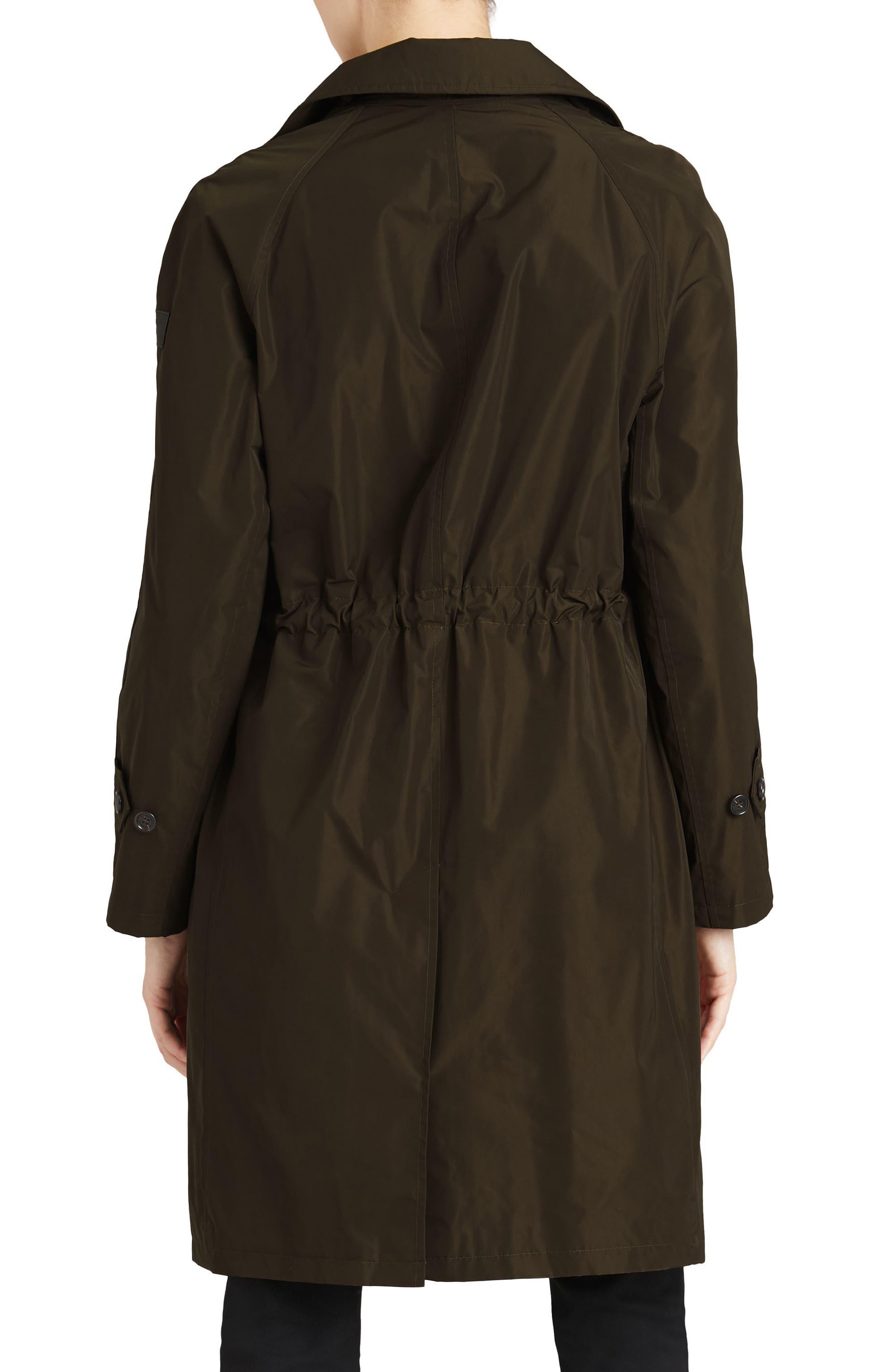 Alternate Image 2  - Burberry Tringford Waterproof Hooded Coat