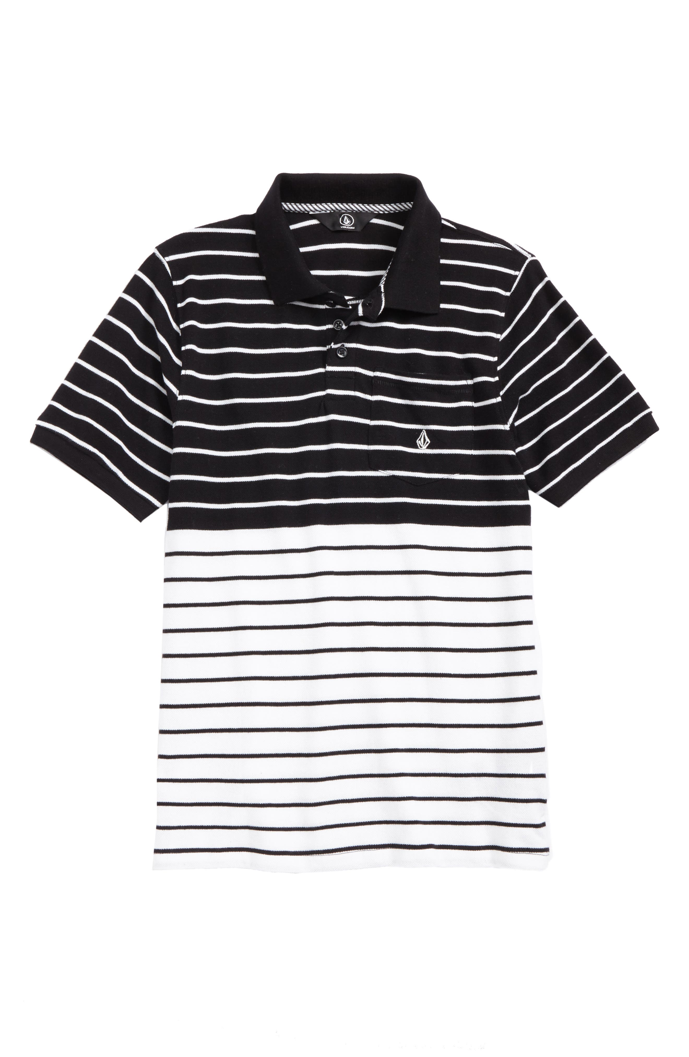 Volcom Wowzer Stripe Polo (Toddler Boys & Little Boys)