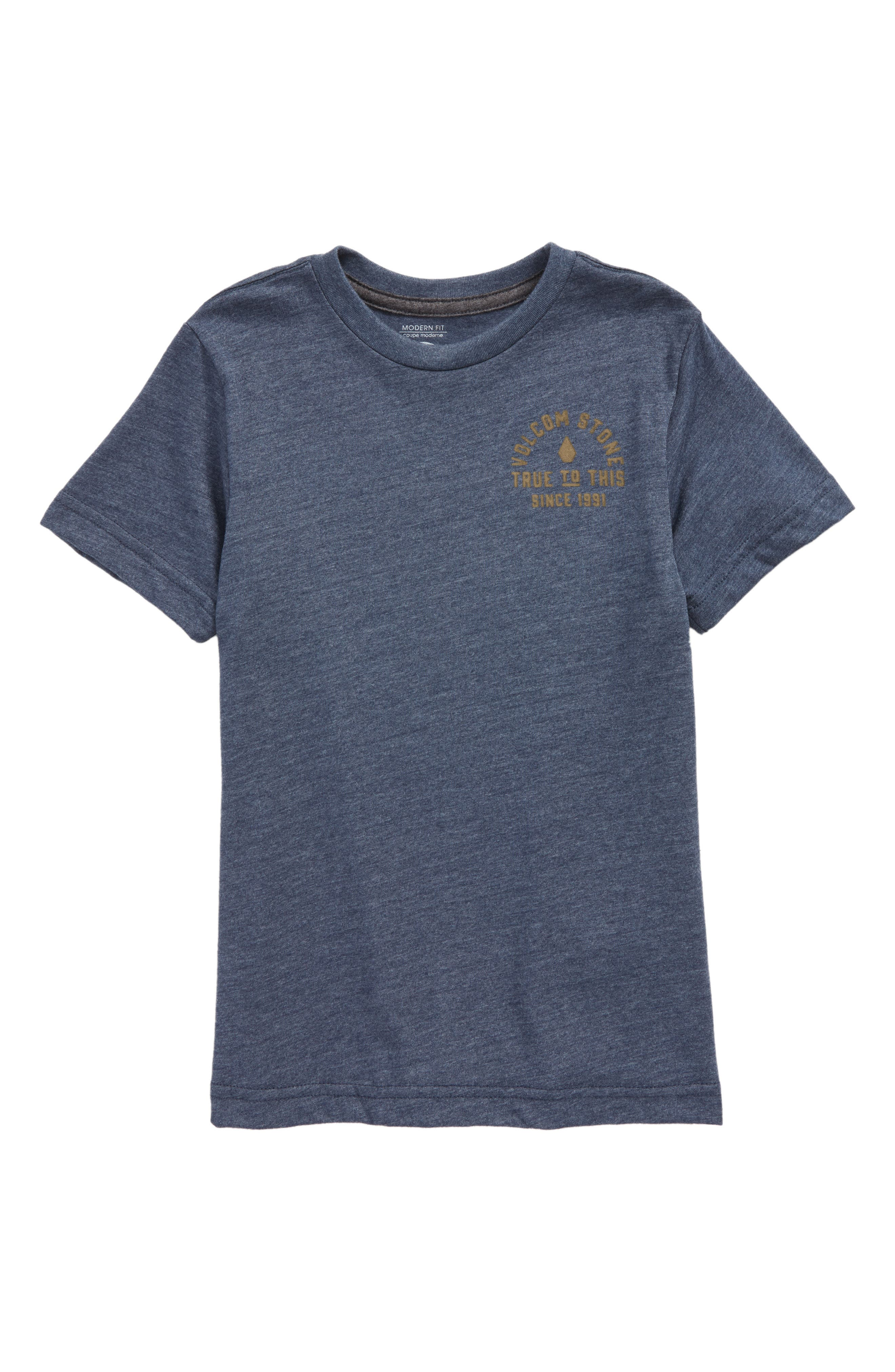 Stone Co. T-Shirt,                             Main thumbnail 1, color,                             Indigo