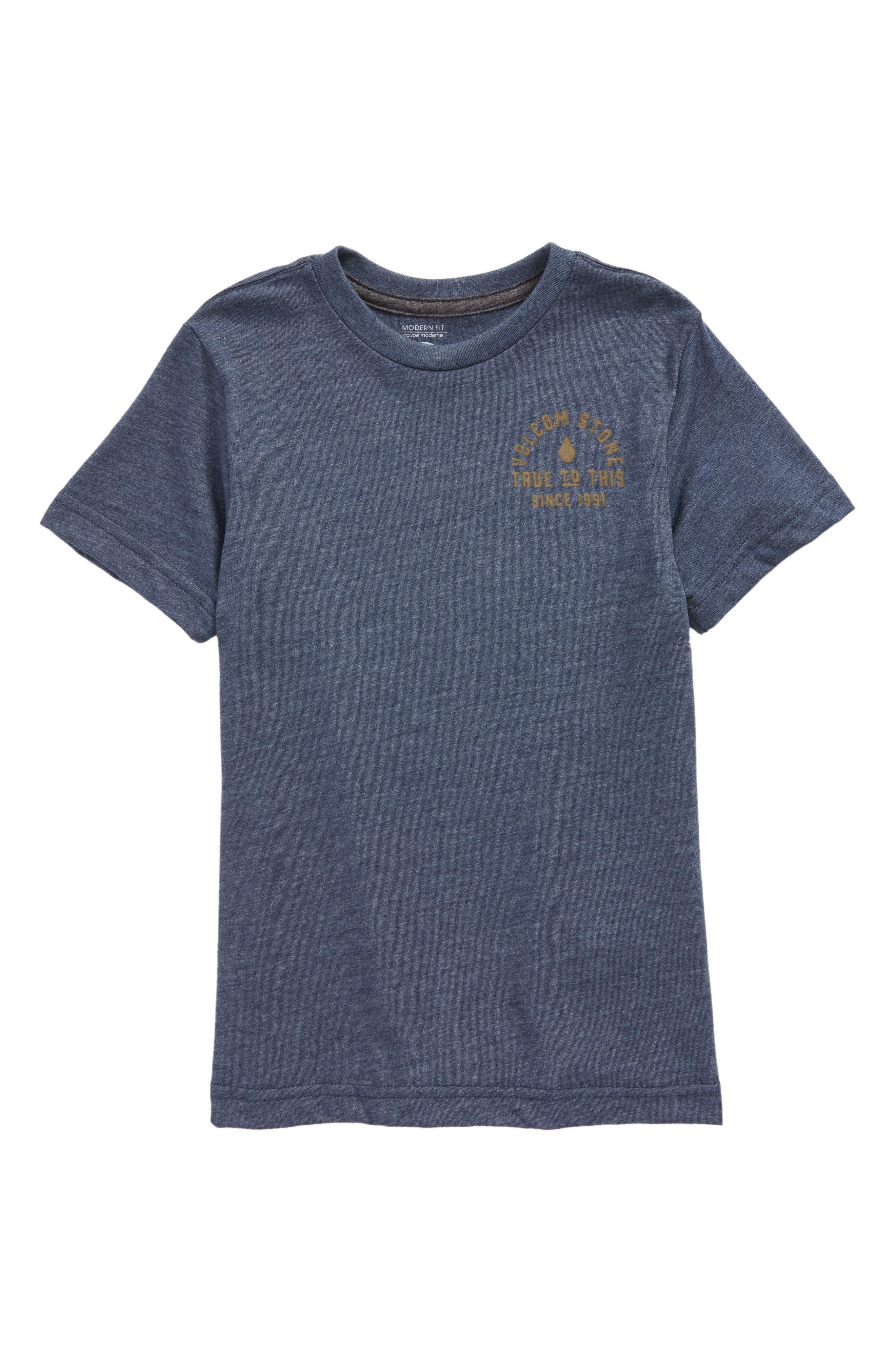 Stone Co. T-Shirt,                         Main,                         color, Indigo
