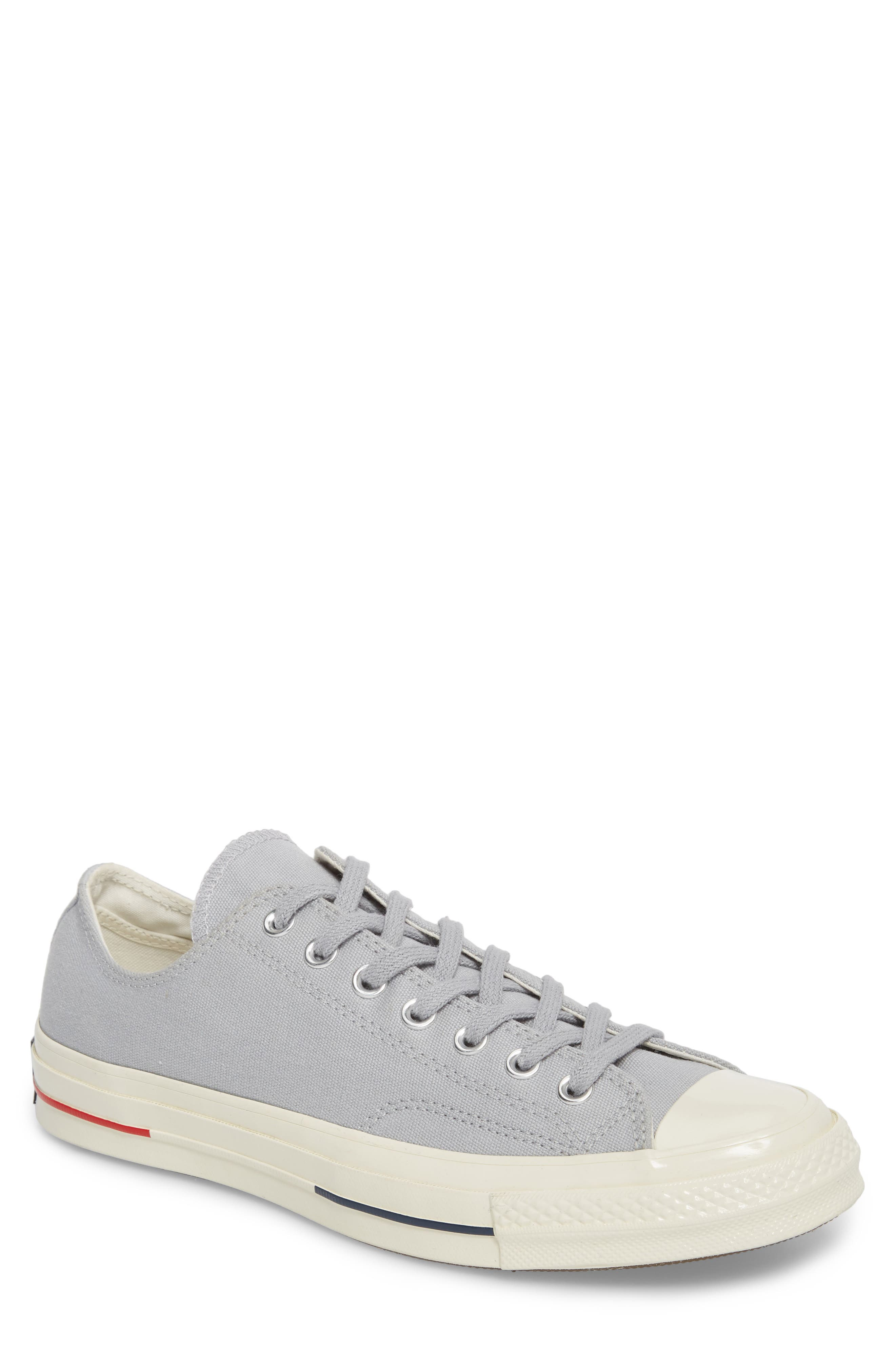 Chuck Taylor<sup>®</sup> All Star<sup>®</sup> 70 Heritage Low Top Sneaker,                             Main thumbnail 1, color,                             Wolf Grey