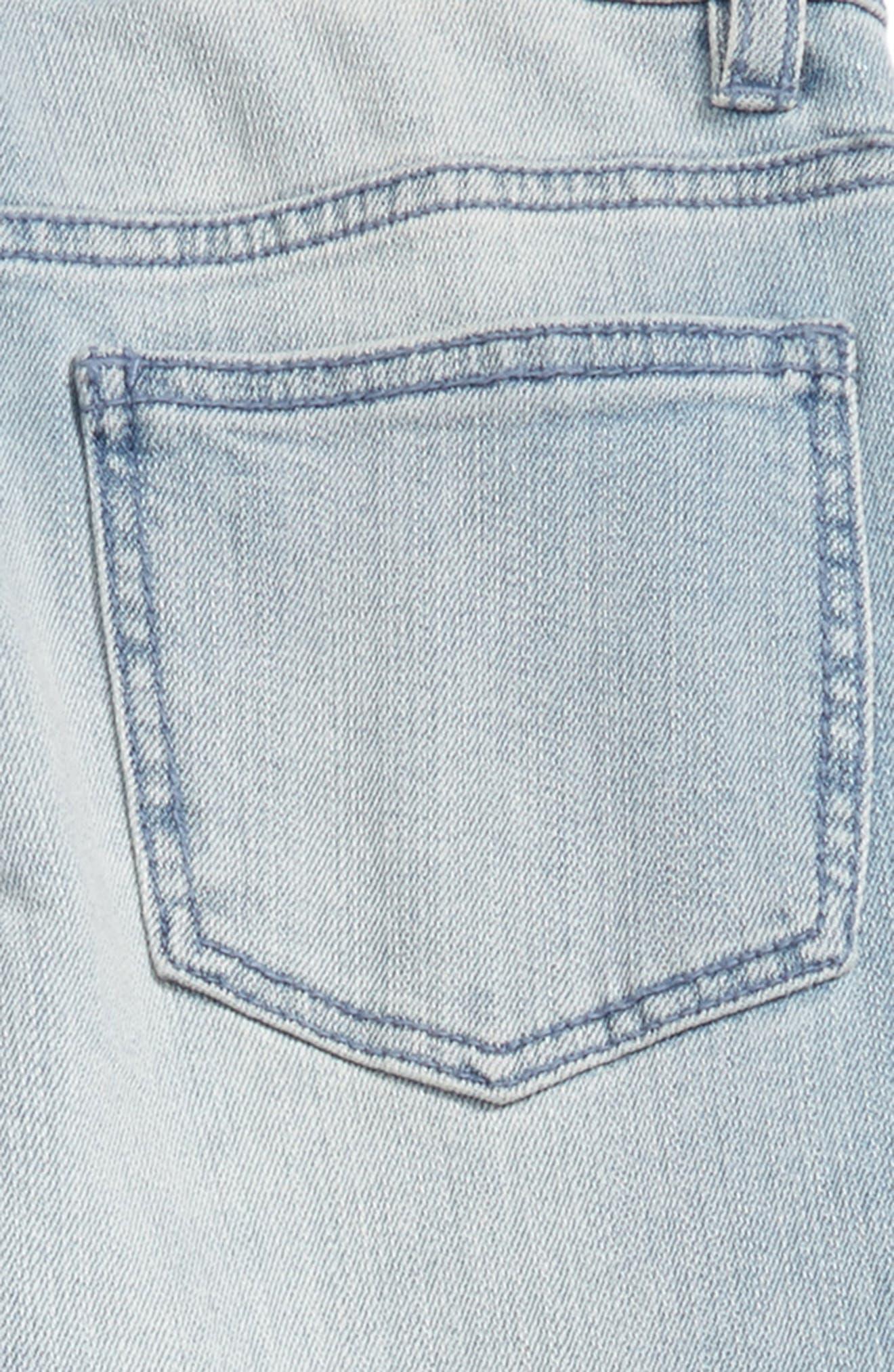 Alternate Image 3  - Elwood Rip & Repair Straight Leg Jeans (Big Boys)