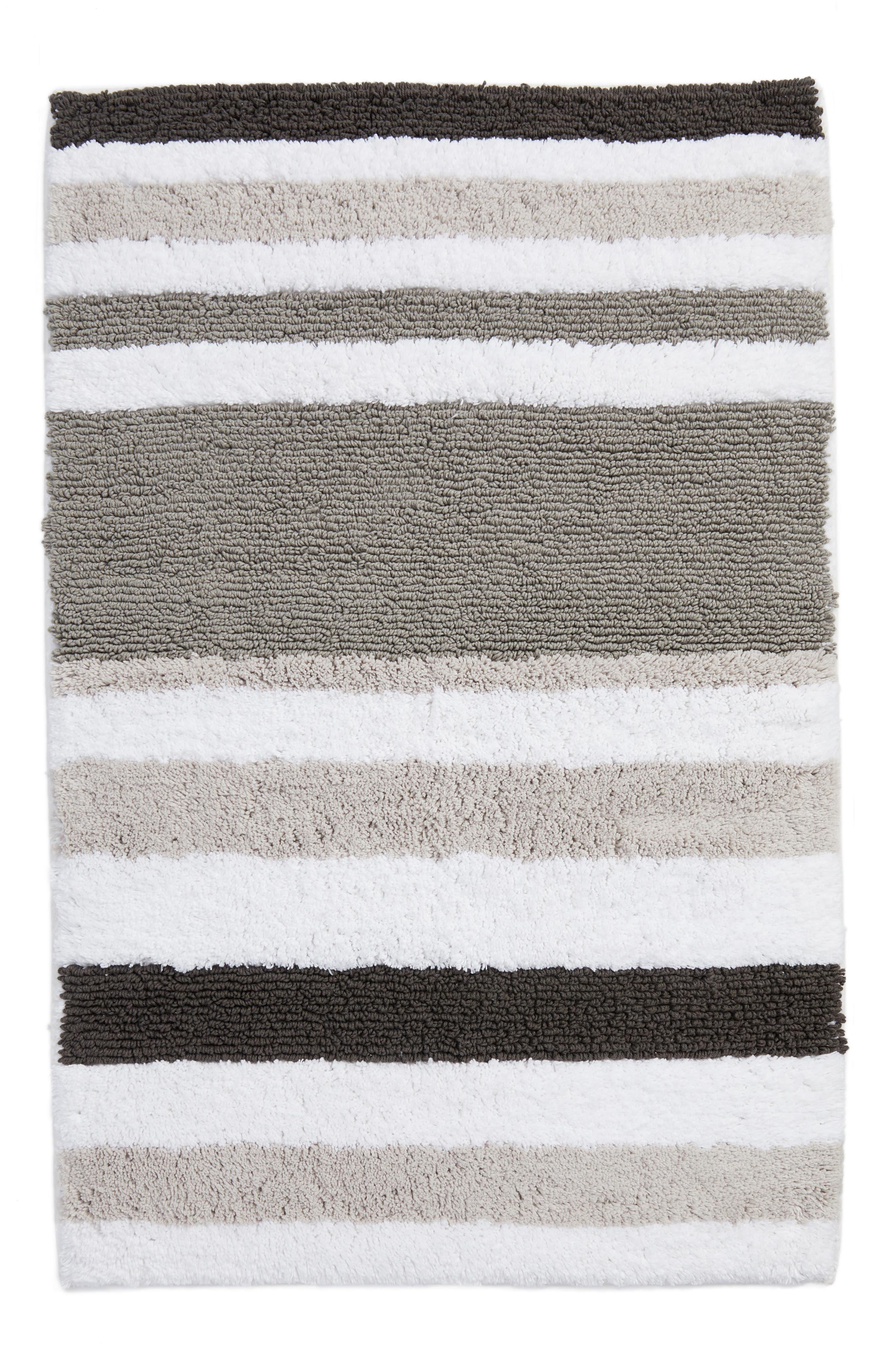 Stripe Rug,                             Main thumbnail 1, color,                             Grey Magnet