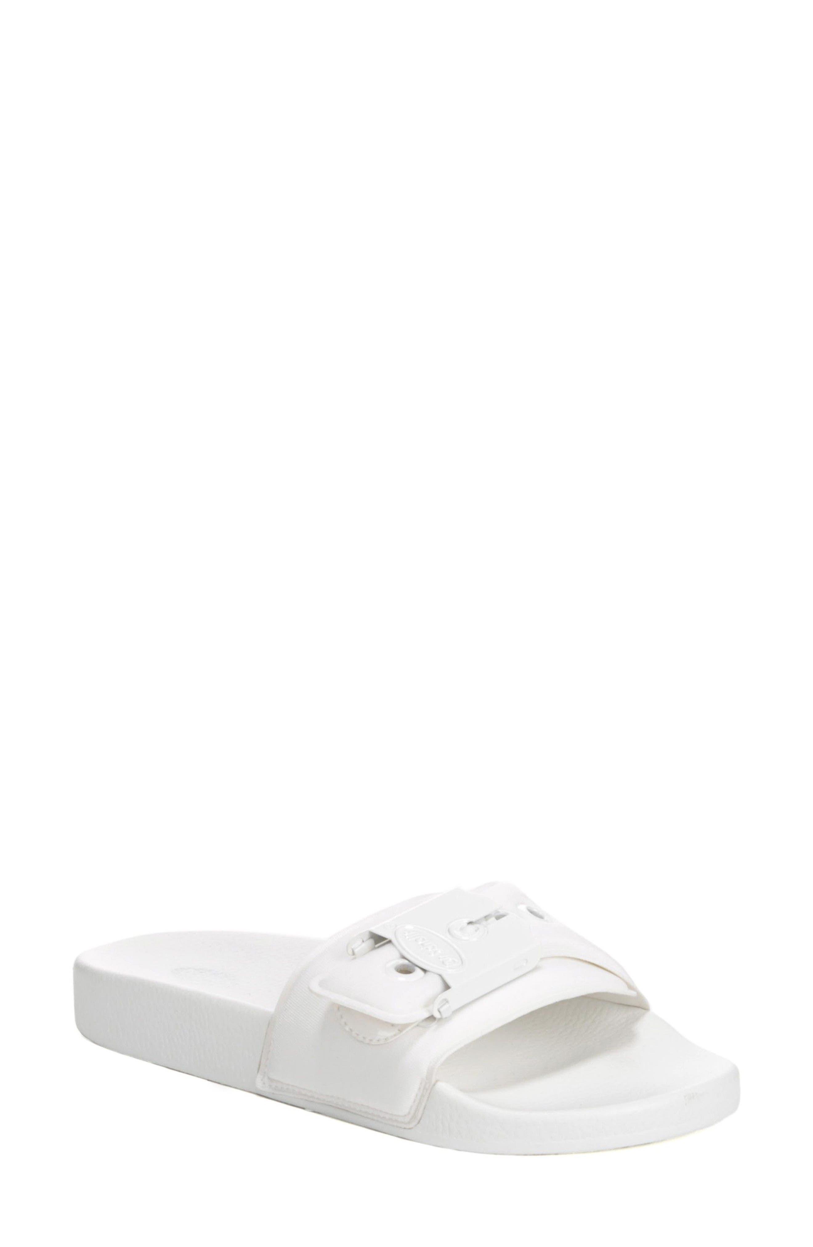 Original Pool Slide Sandal,                             Main thumbnail 1, color,                             White