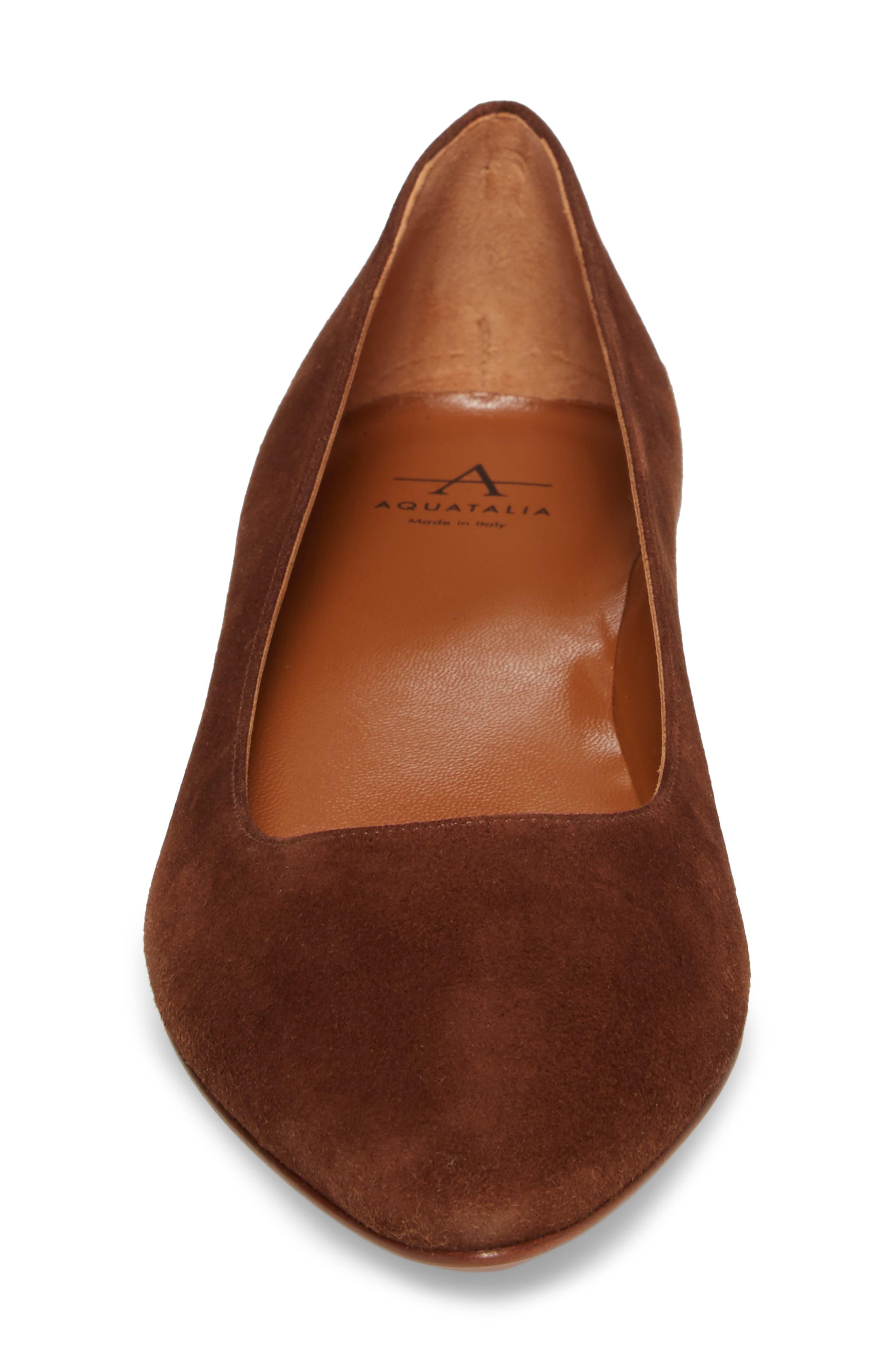 Alternate Image 4  - Aquatalia Perla Weatherproof Ballerina Shoe (Women)