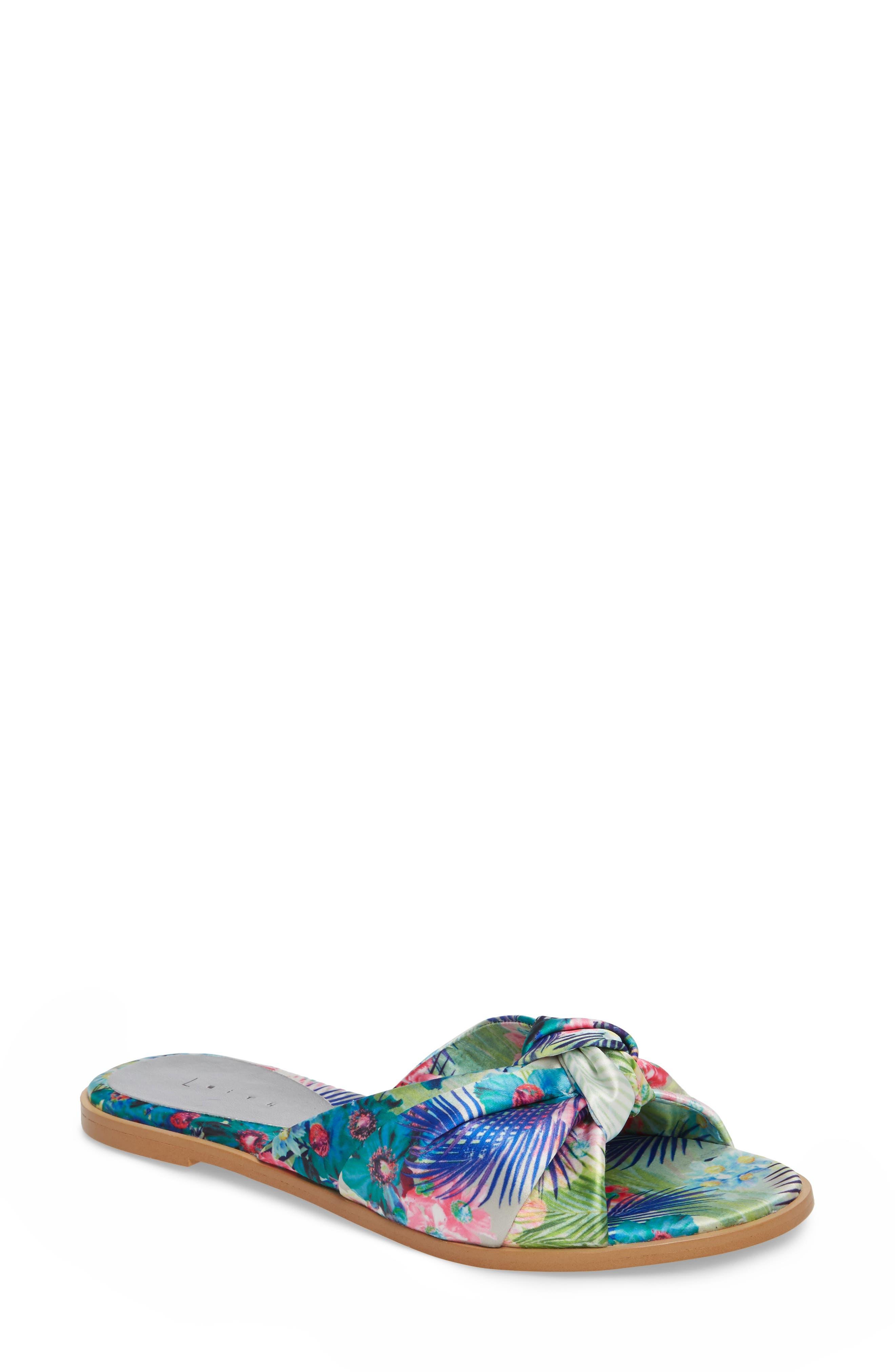Leith Nevie Knotted Slide Sandal (Women)