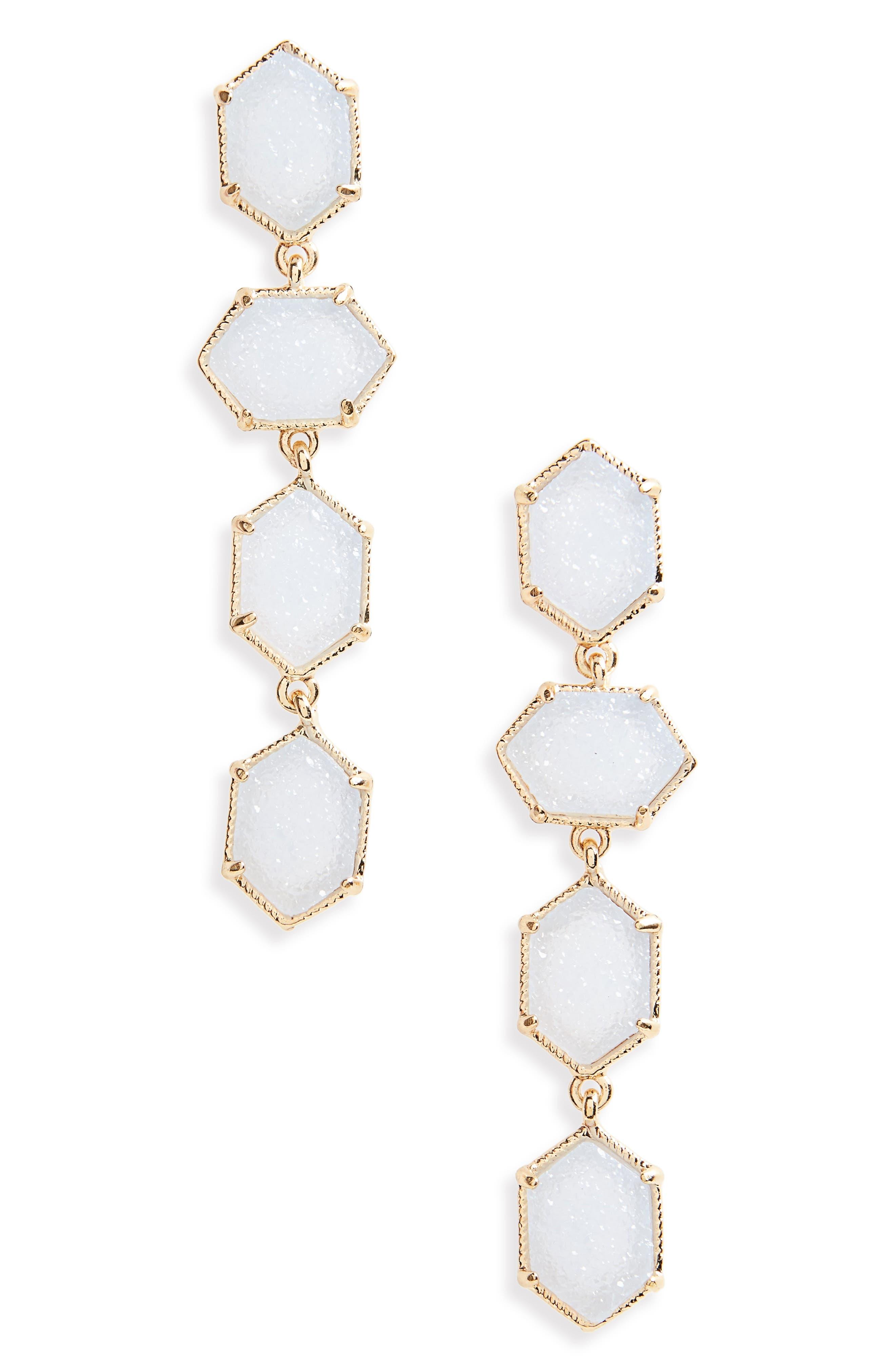 Main Image - Panacea Linear Earrings