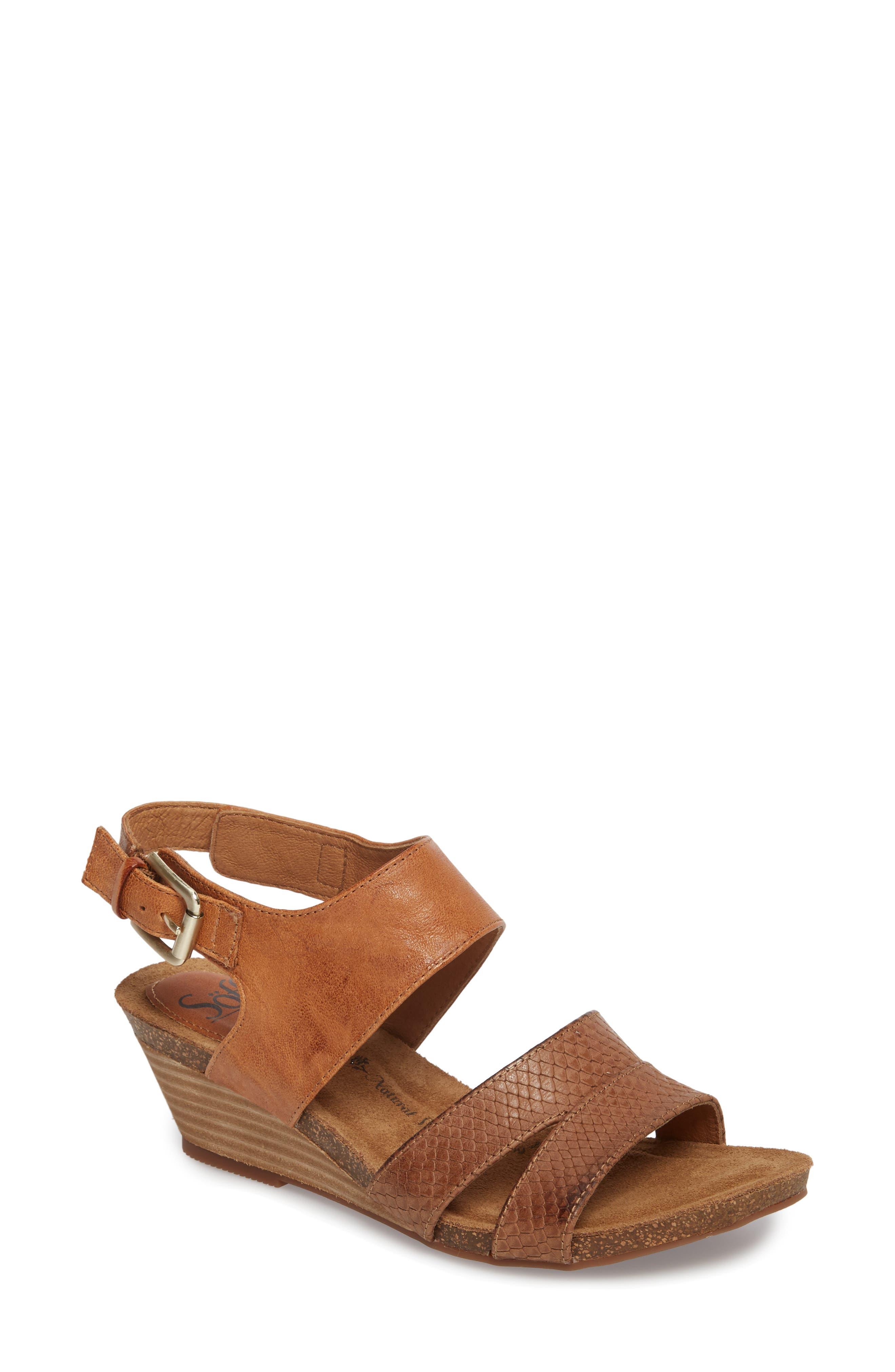 Söfft Velden Wedge Sandal (Women)