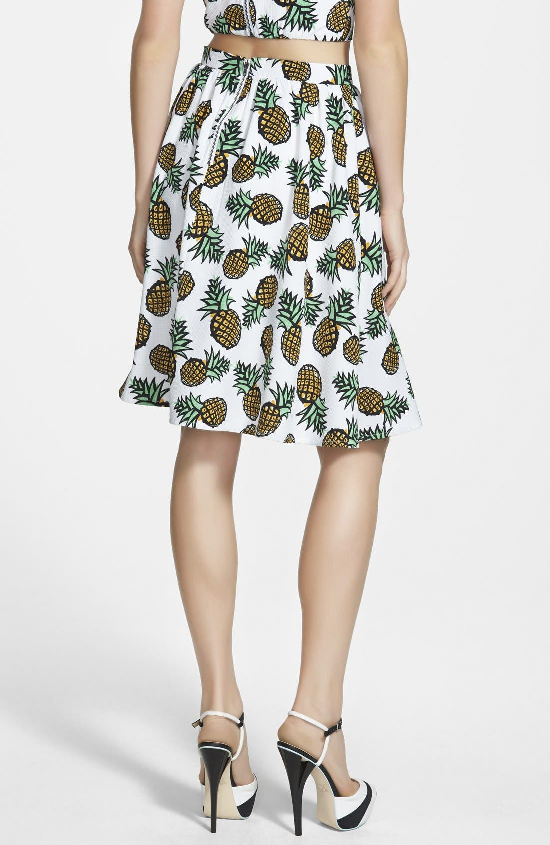 Alternate Image 2  - Piece Goods Pineapple Skirt