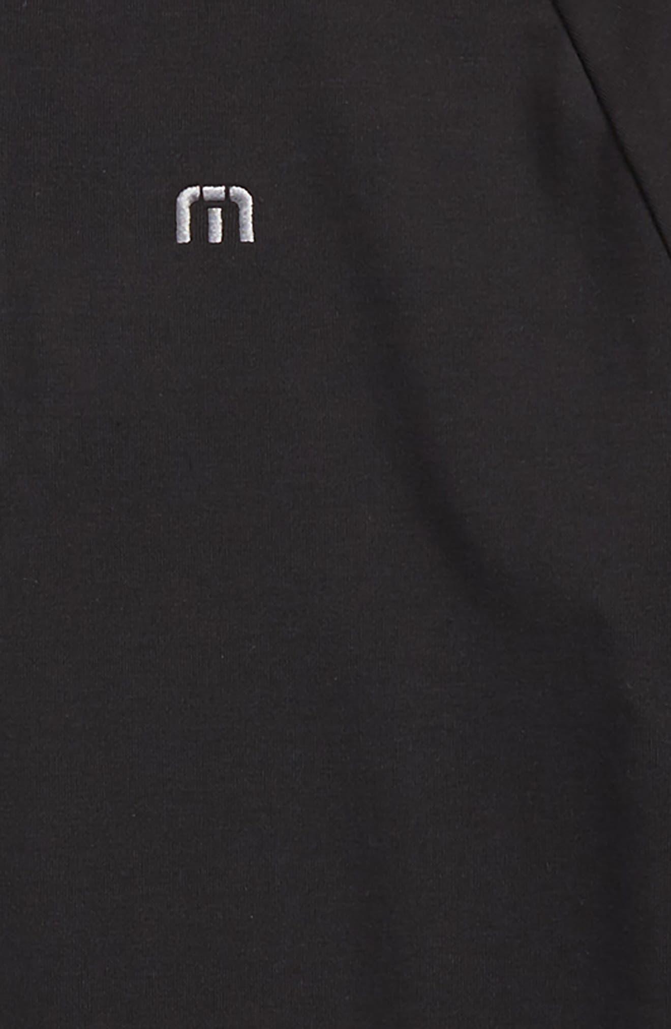 Younglove Quarter Zip Pullover,                             Alternate thumbnail 2, color,                             Black