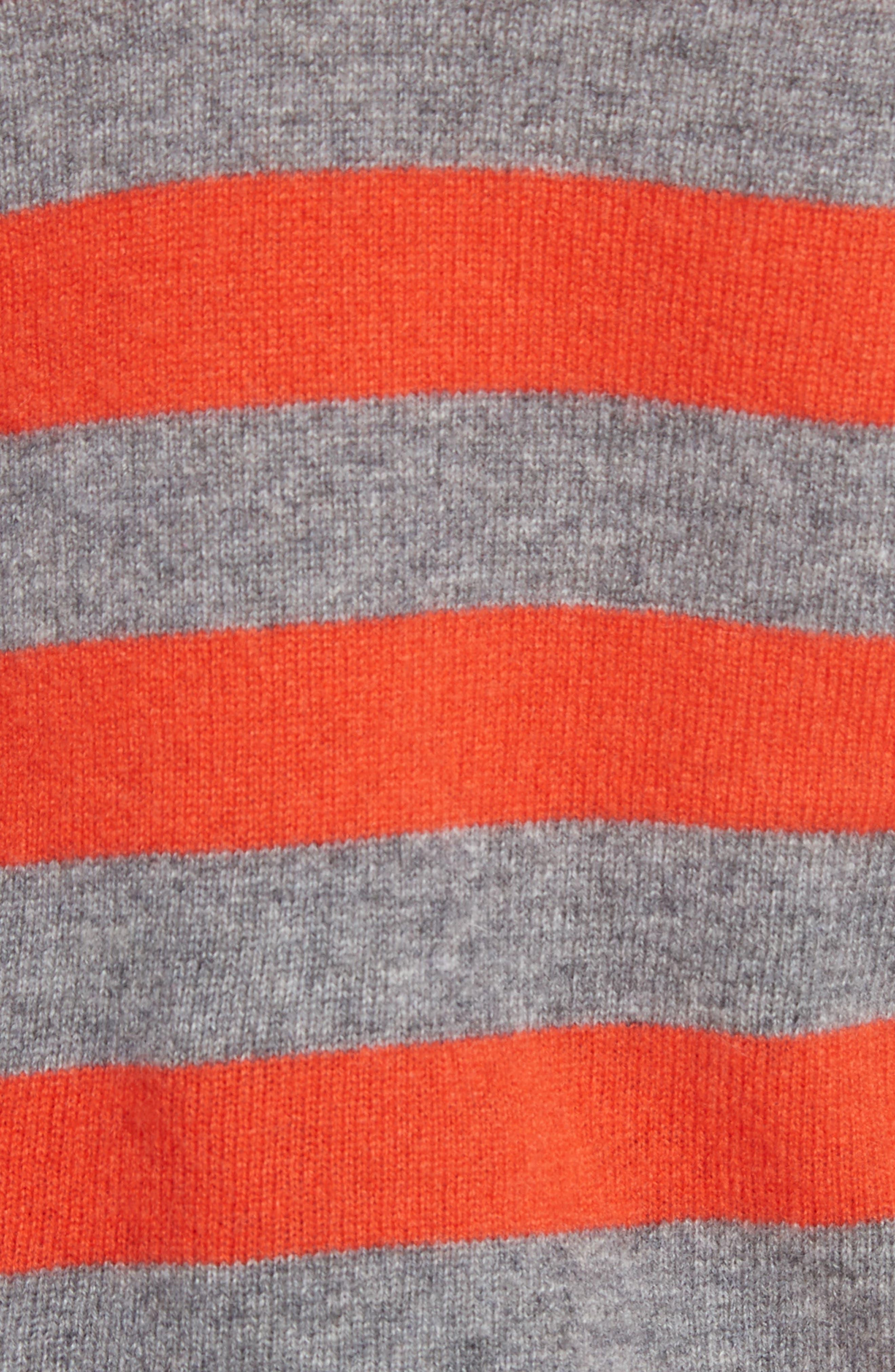 Alternate Image 5  - Equipment Baxley Stripe Cashmere Sweater