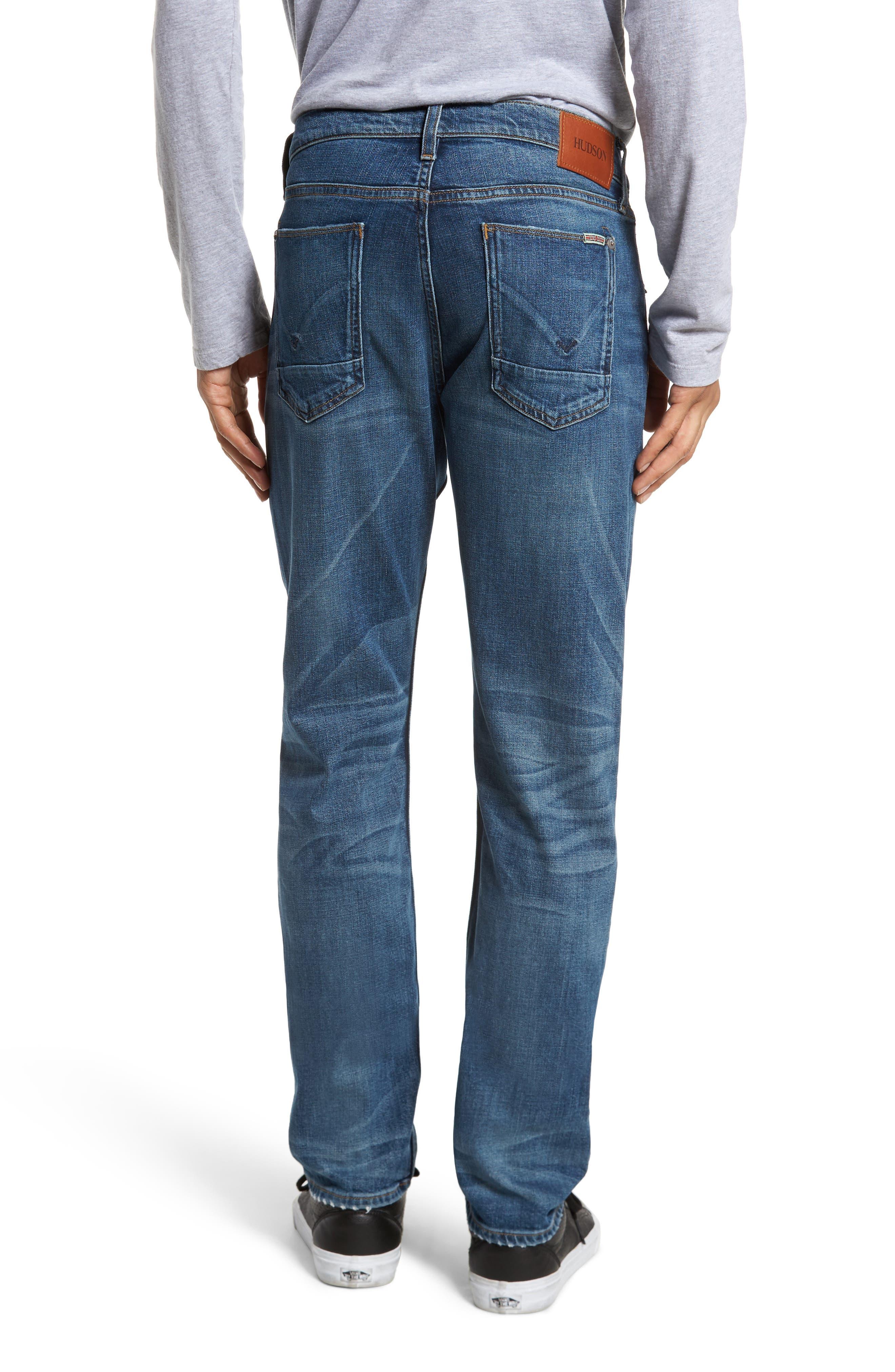 Alternate Image 2  - Hudson Jeans Byron Slim Straight Leg Jeans (Graph)