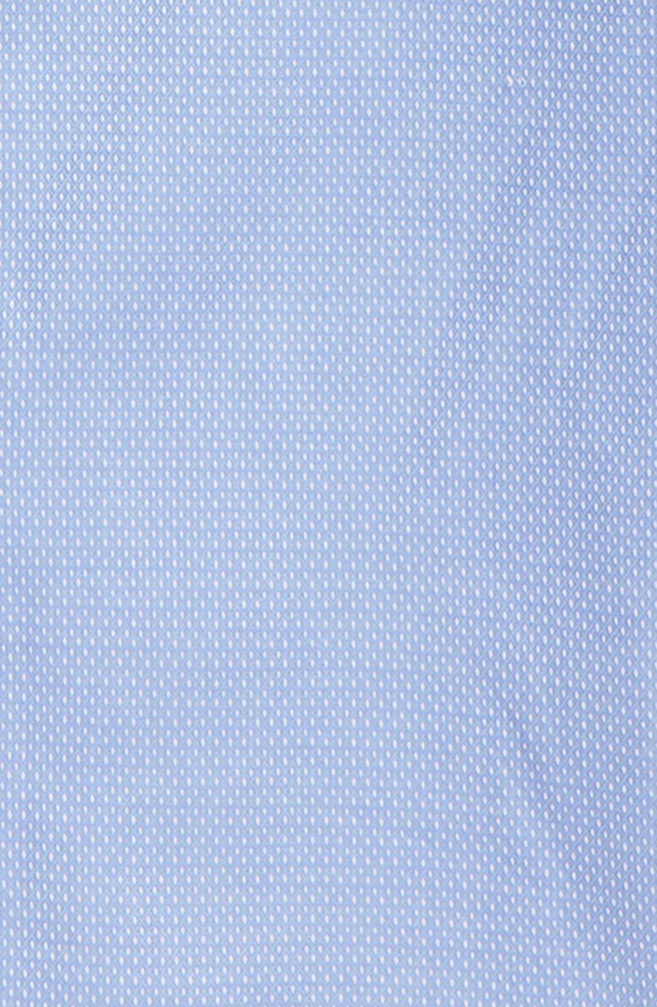 Alternate Image 2  - Michael Kors Micro Dot Dress Shirt (Big Boys)