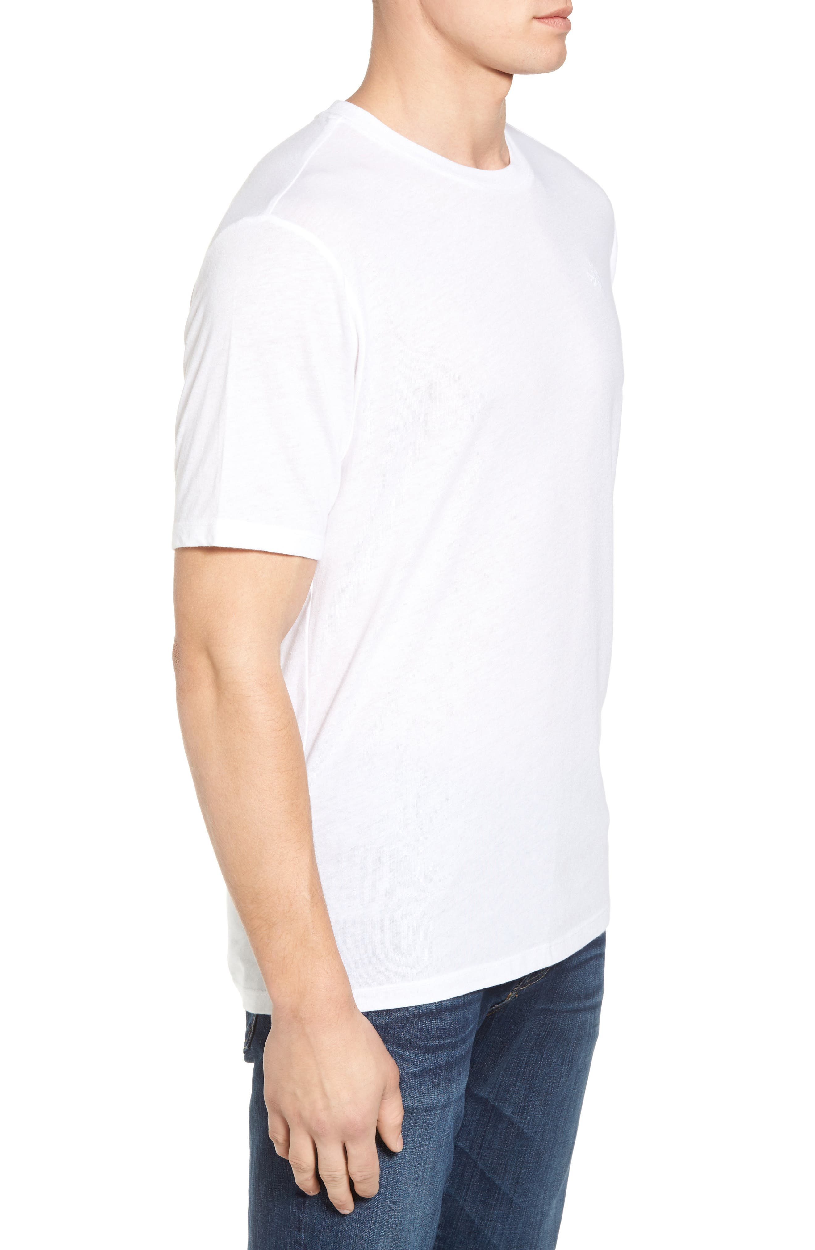 Good Times Graphic T-Shirt,                             Alternate thumbnail 3, color,                             White